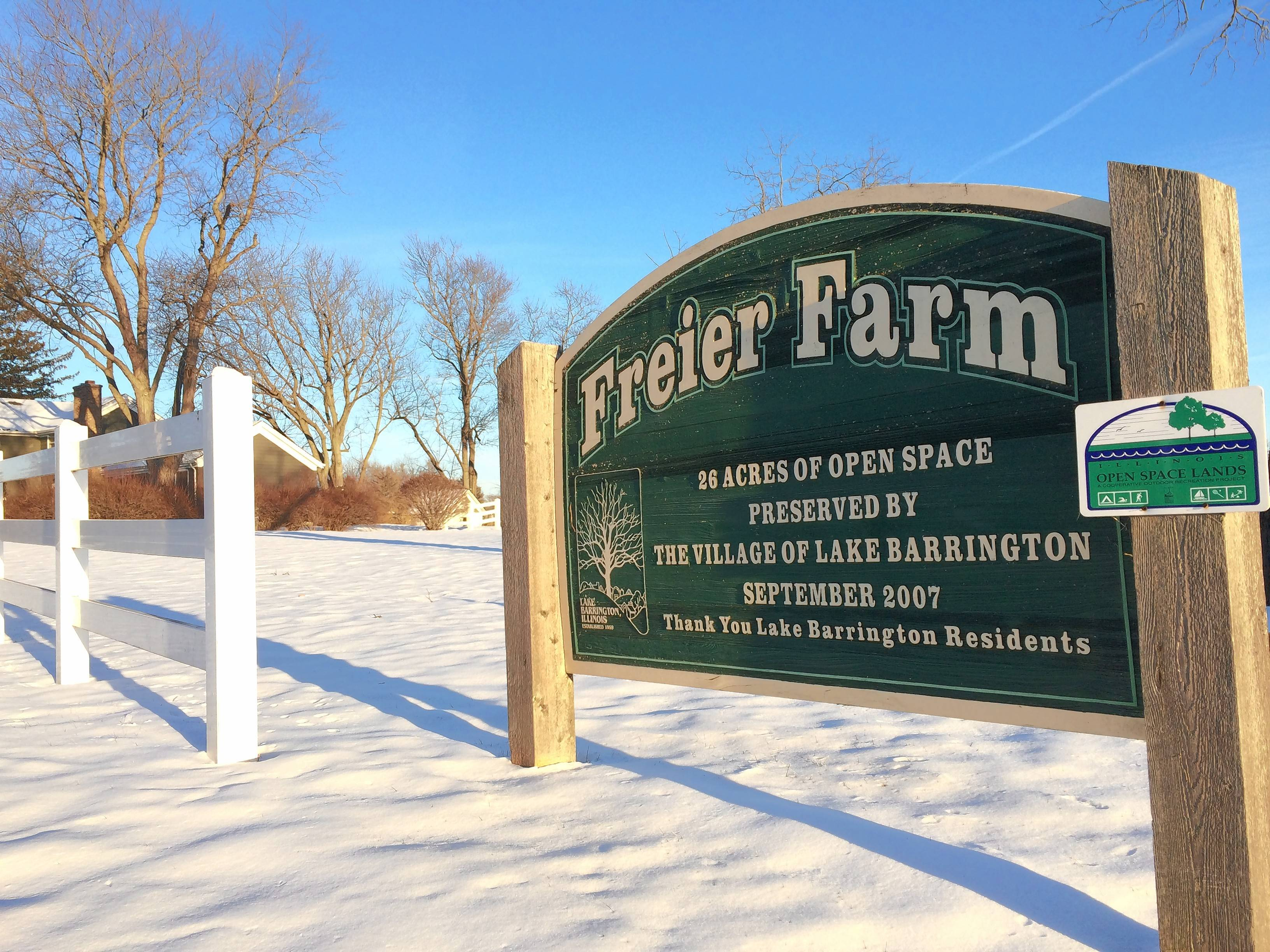 Lake Barrington spent $2.1 million to buy land that became known as Freier Farm in 2007.