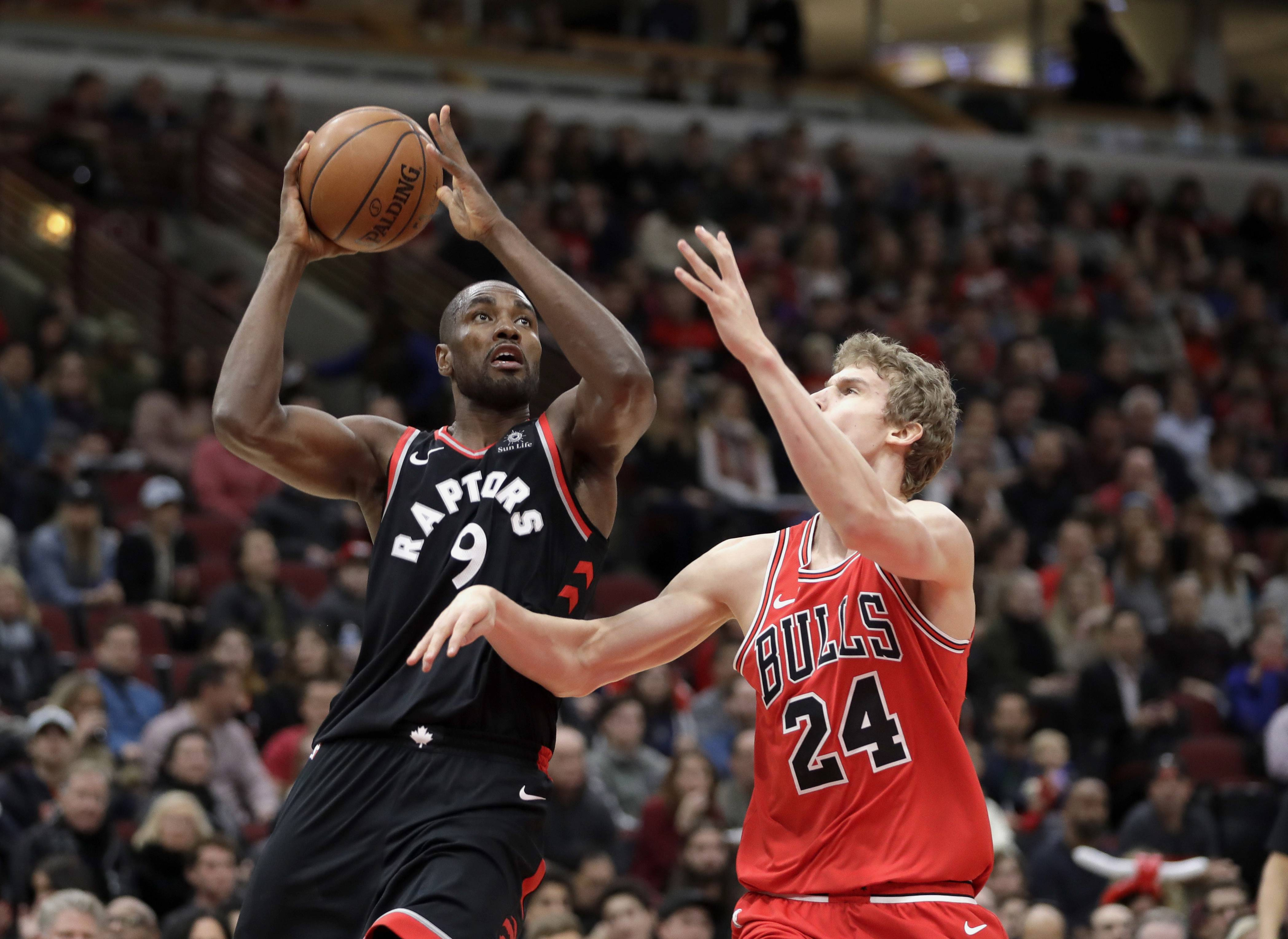 Chicago Bulls' second unit gets taken to cleaners in loss to Toronto