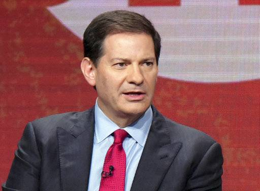 "FILE - In this Aug. 11, 2016, file photo, author and producer Mark Halperin appears at the Showtime Critics Association summer press tour in Beverly Hills, Calif. Showtime said it is keeping its political series ""The Circus� alive despite the loss of co-host Halperin on sexual misconduct charges. (Photo by Richard Shotwell/Invision/AP, File)"