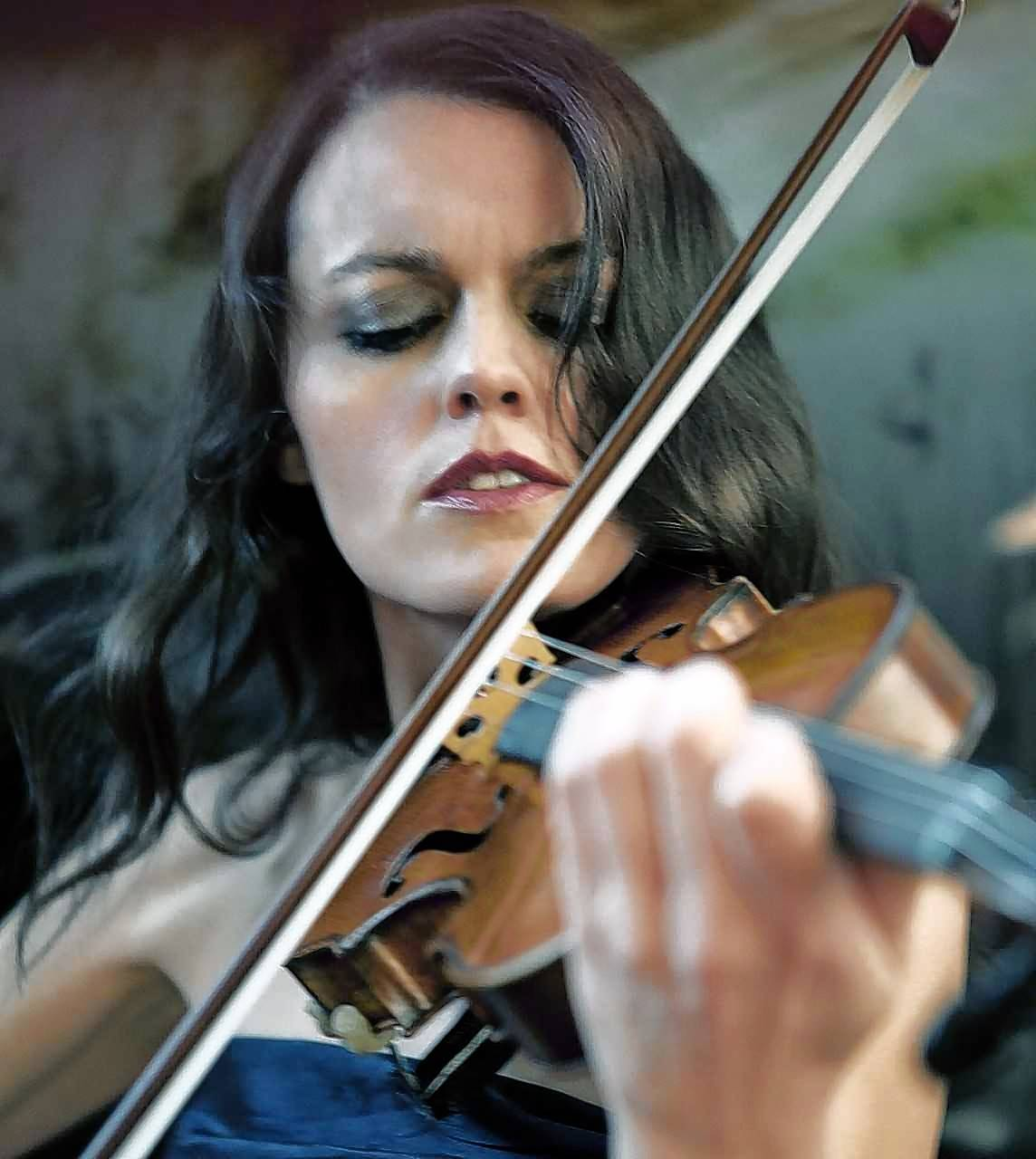 Elgin Symphony Orchestra concertmaster Isabella Lippi will perform Anton Bruch's famous Violin Concerto No. 1 this month.