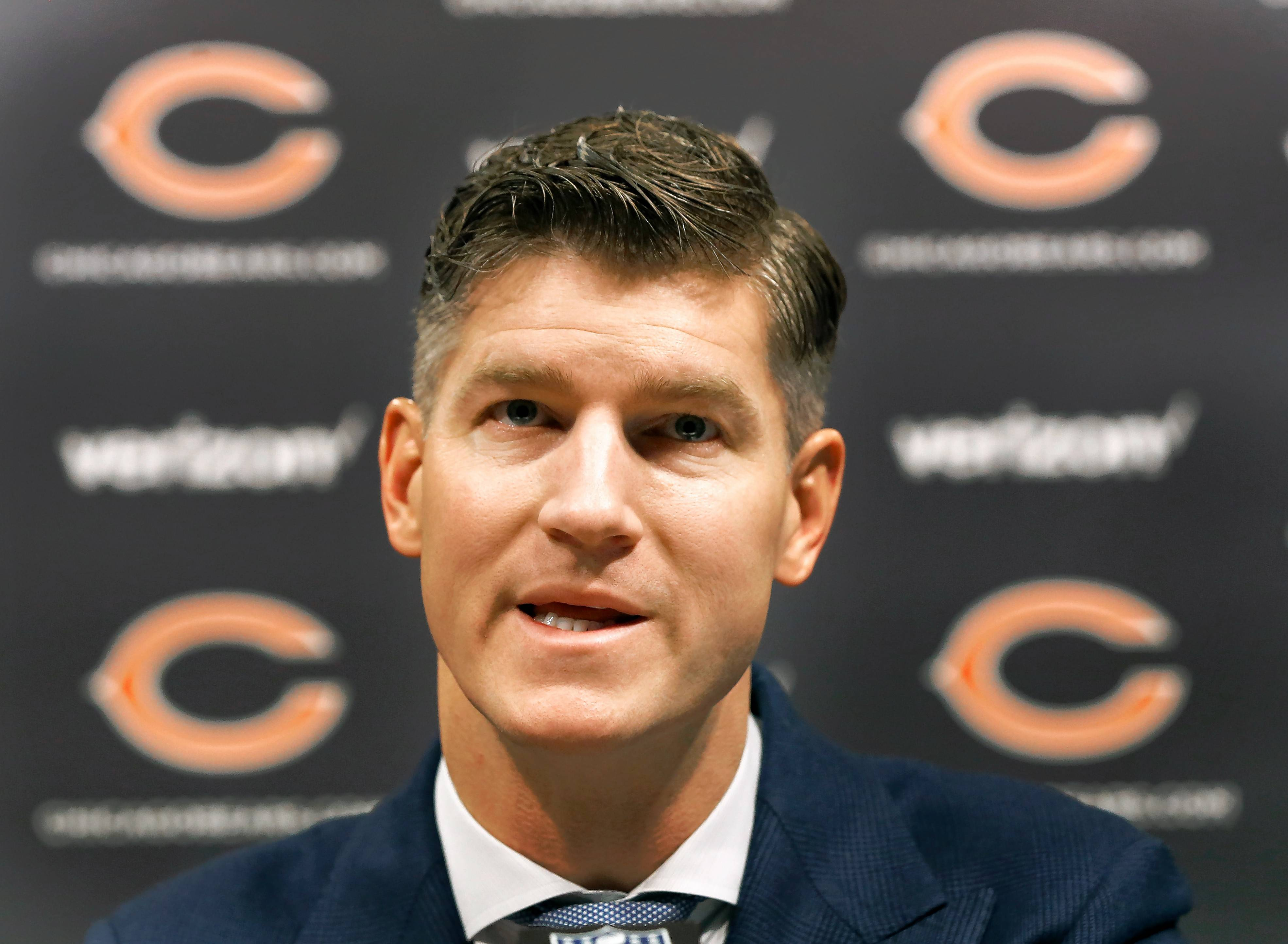 Minnesota Vikings defensive coordinator George Edwards Thursday became the second candidate to interview with GM Ryan Pace for the Bears' head-coaching vacancy.