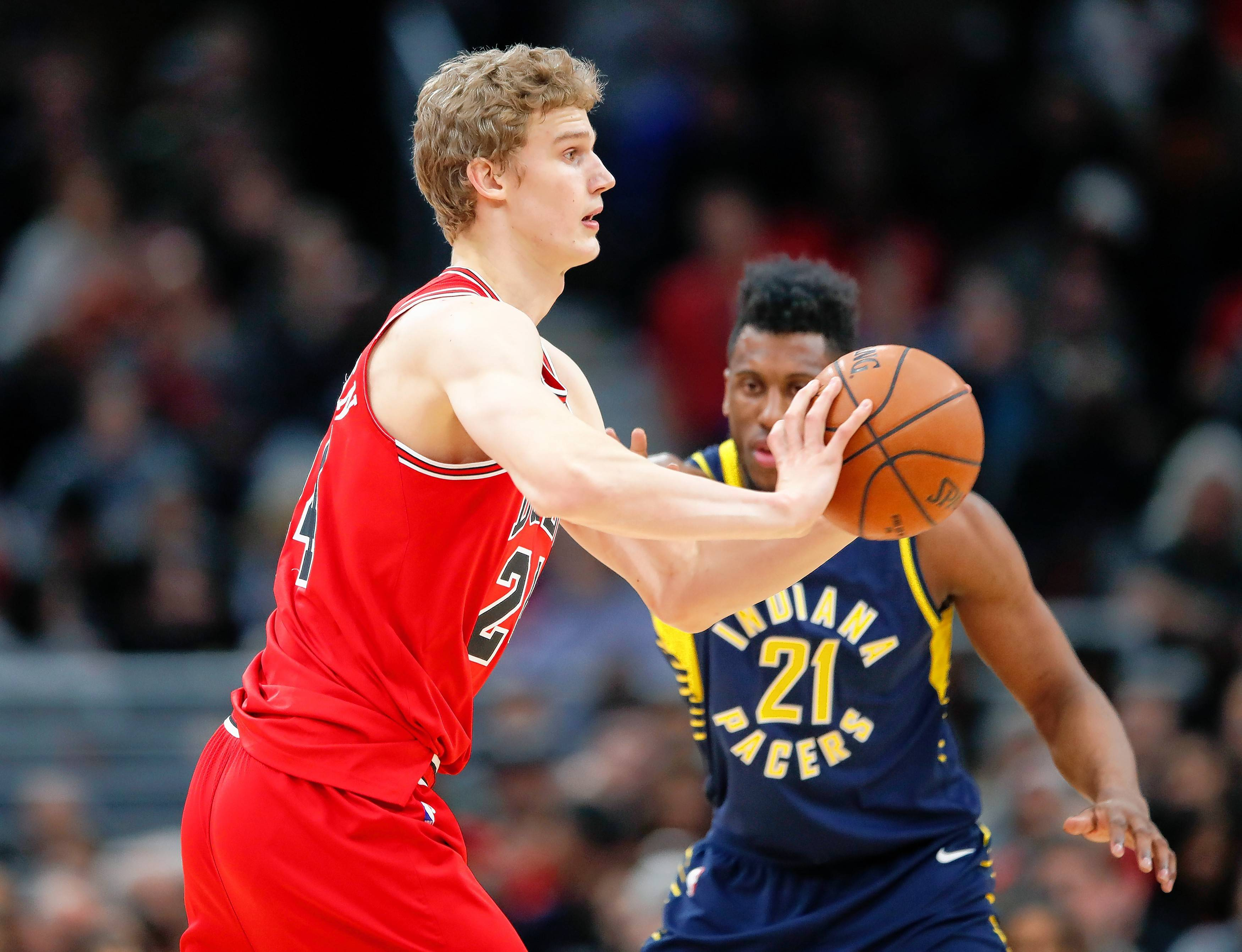 Over his past four games, Chicago Bulls forward Lauri Markkanen Markkanen has averaged 21.0 points, 9.0 rebounds and shot 53 percent from the field.