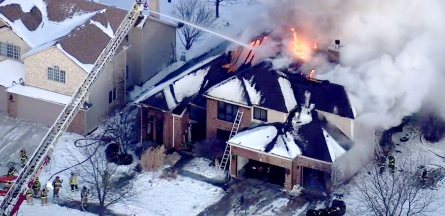 Naperville House Fire Started Near Christmas Tree