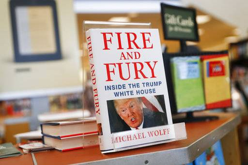 'Fire and Fury' book released, blowing open GOP feud