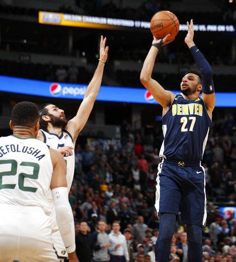 Denver Nuggets Murray: Lyle Scores Career-high 26 As Nuggets Beat Jazz 99-91