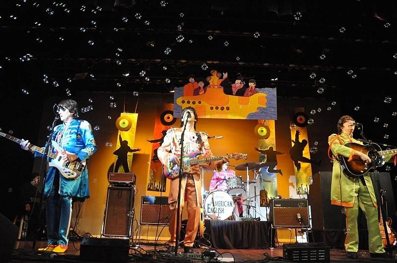 American English plays a Beatles tribute show at the Raue Center for the Performing Arts Saturday, Jan. 6.