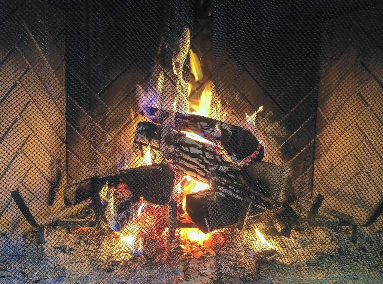 Homeowners who use their fireplaces should make sure dampers are closed whenever fires are not burning. Open dampers are akin to open windows.