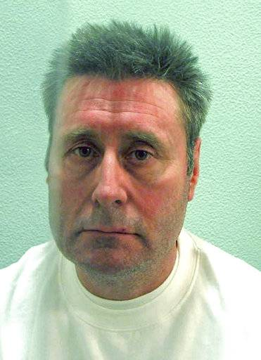 This undated file photo made available on Friday Jan. 5, 2018 by the Metropolitan Police, shows John Worboys. The former black-cab driver is to be released from prison who was jailed for life in 2009 after being convicted of 19 offences, including one count of rape, although police believe he has attacked many more women. (Metropolitan Police via AP)