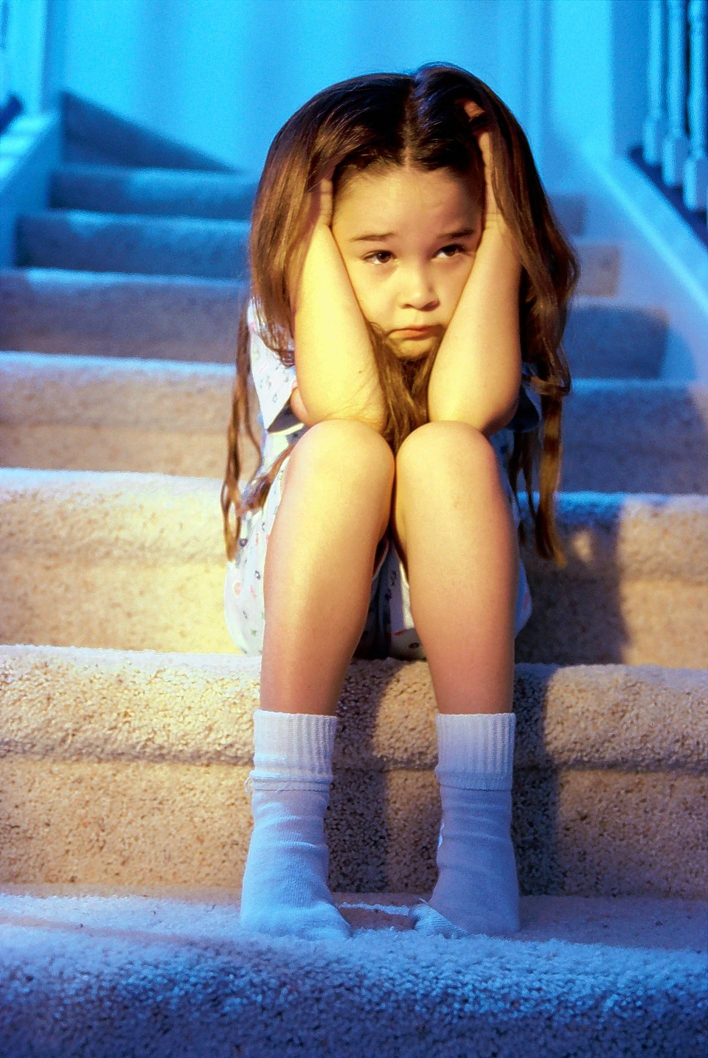 Anxious kids are supersensitive and react to new activities as if they were threatening.
