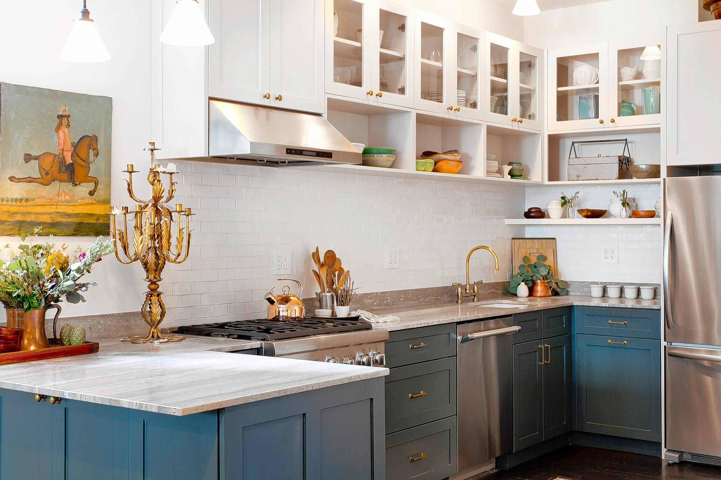 Although white will always be a classic color for kitchen design, homeowners are shying away from bland hues and injecting rich colors such as warm wood tones and neutrals.