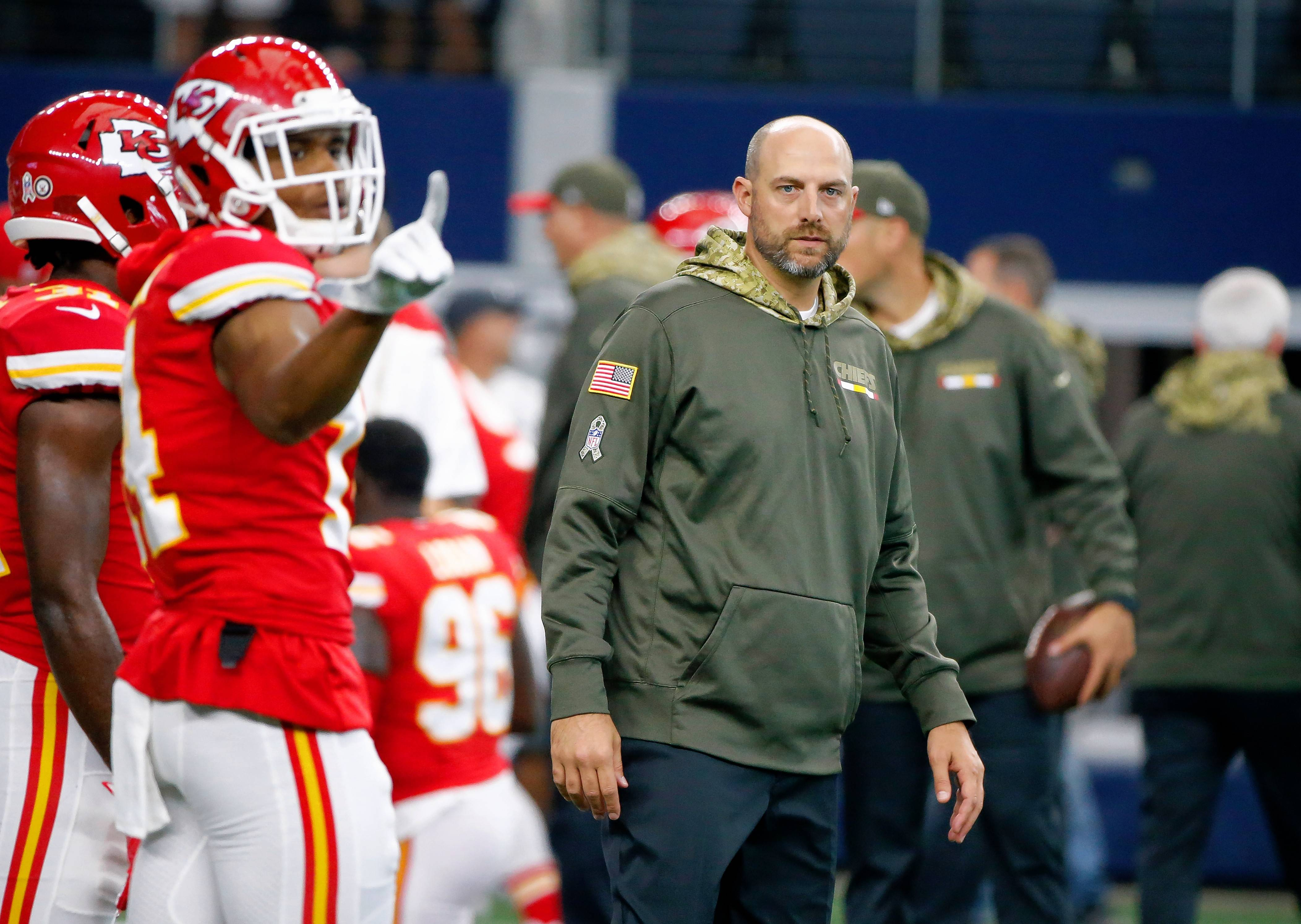 Chicago Bears hire Kansas City's Matt Nagy as new head coach