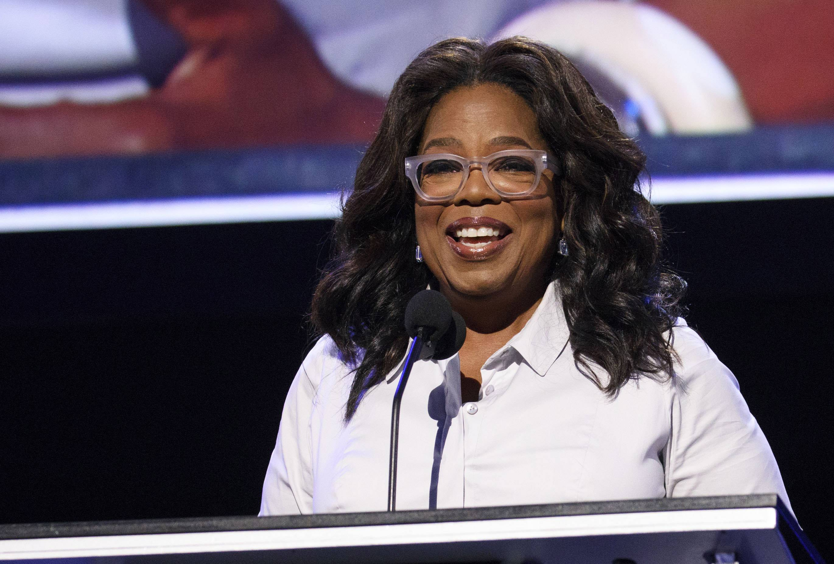 'Oprah for president' talk boosts Weight Watchers shares