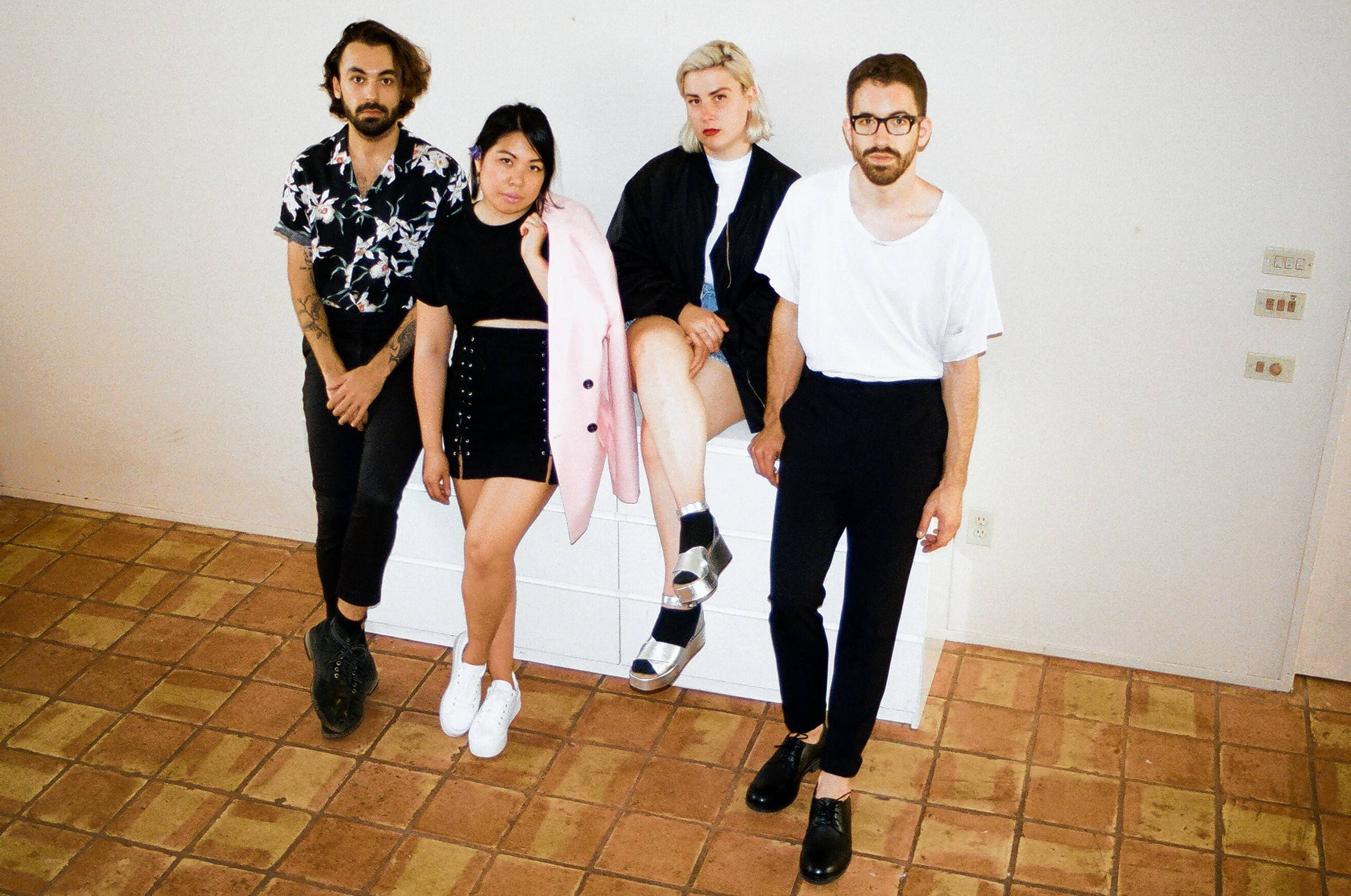 Belle Game takes the Schubas stage with Yumi Zouma, Varsity and Sports Boyfriend on Wednesday, Jan. 17, the opening night of the Tomorrow Never Knows Festival.