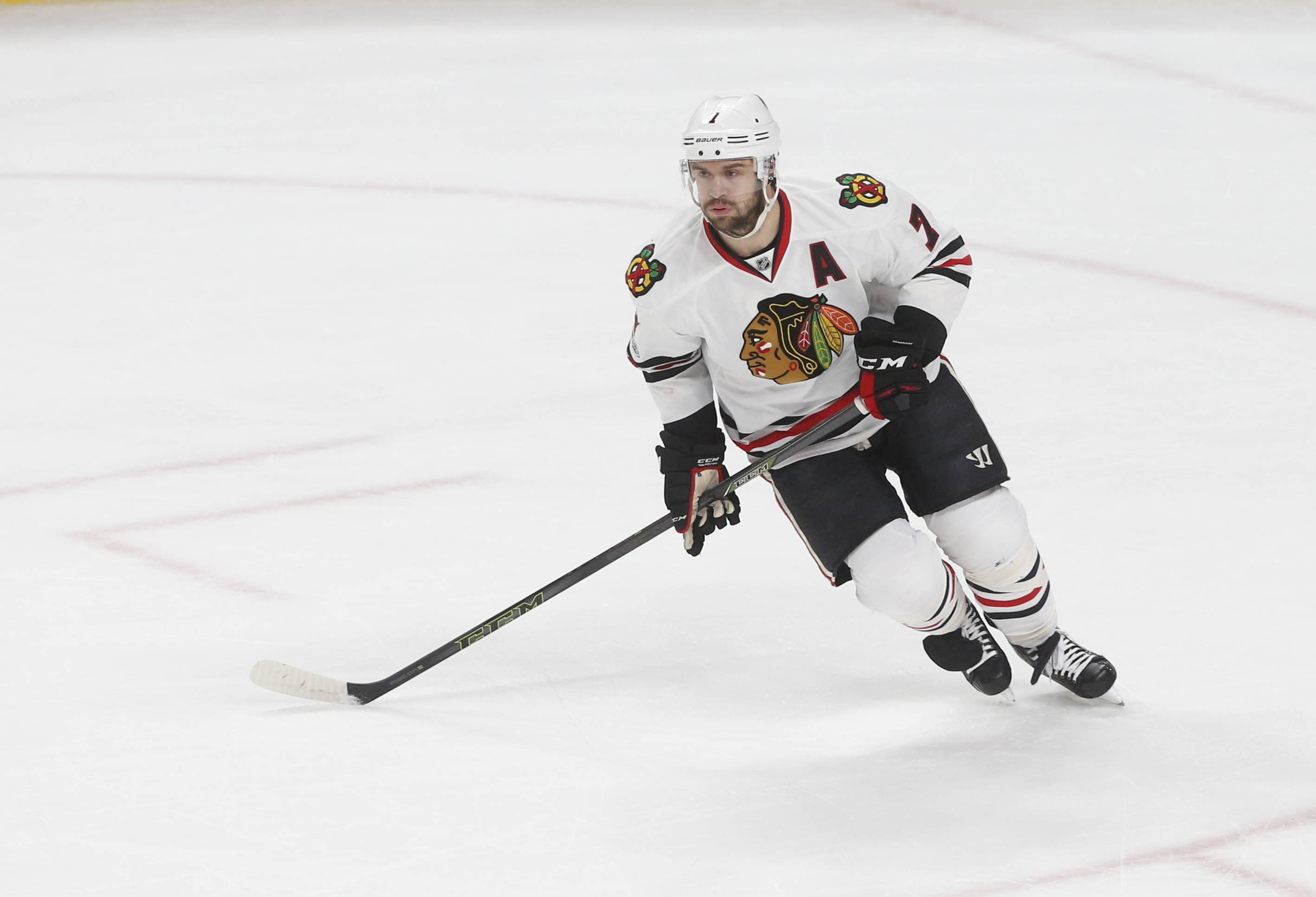 With just 1 goal and 10 assists in 41 games, the Chicago Blackhawks have decided to sit veteran defenseman Brent Seabrook when they play at Ottawa tonight.