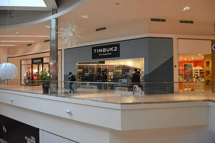 Timbuk2 is known for its bags and backpacks. The retailer opened a store in Rosemont.
