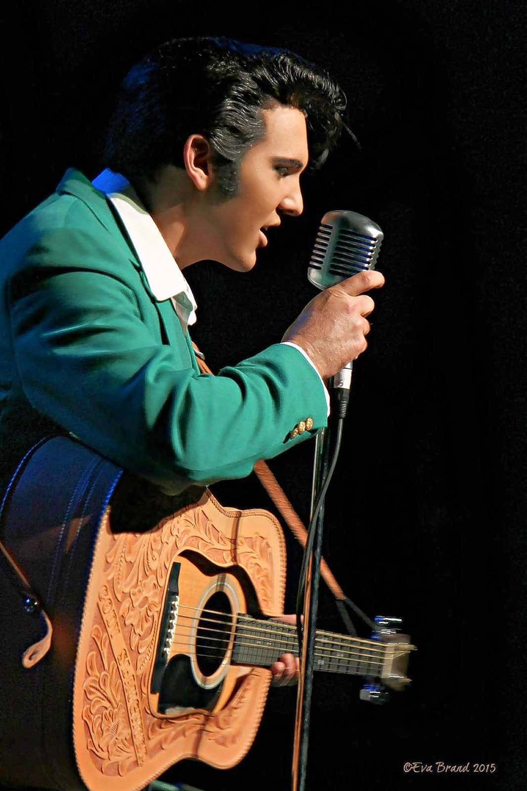 "Elvis Presley tribute artist Cody Ray Slaughter is part of the Elvis Tribute Artist Spectacular ""Birthday Edition"" at the Paramount Theatre in Aurora."