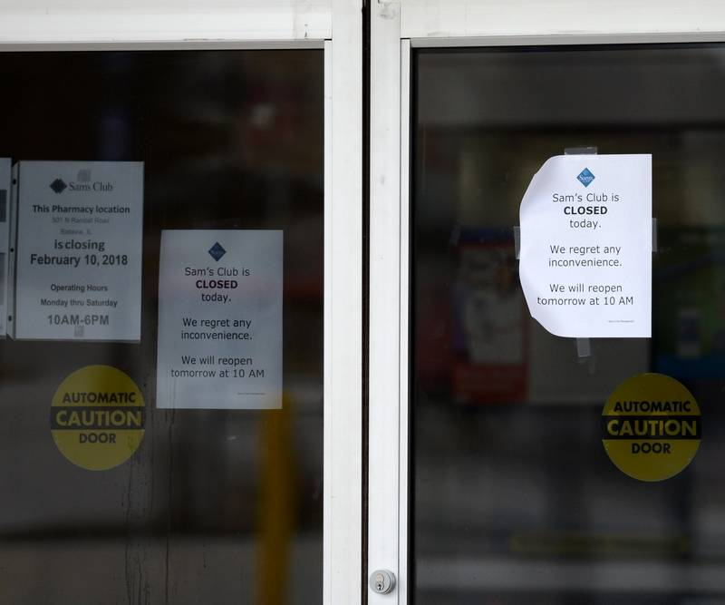 Six suburban Sam's Club stores part of nationwide closing