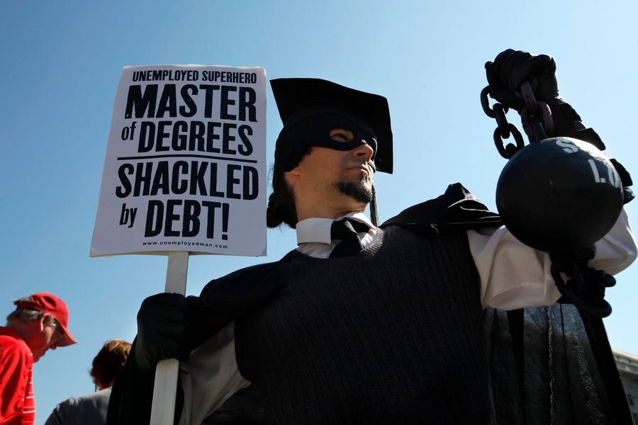 A report released this week by the Urban Institute found that in 2015-2016, graduate students, including those pursuing professional degrees, accounted for 38 percent of federal education loans but just 17 percent of students. What's more, those pursuing advanced degrees borrowed, on average, three times as much as the typical undergraduate -- $18,210, compared with $5,460. Perhaps even more worrisome is that the share of advanced-degree recipients borrowing at least $75,000 more than doubled between 2008 and 2012.