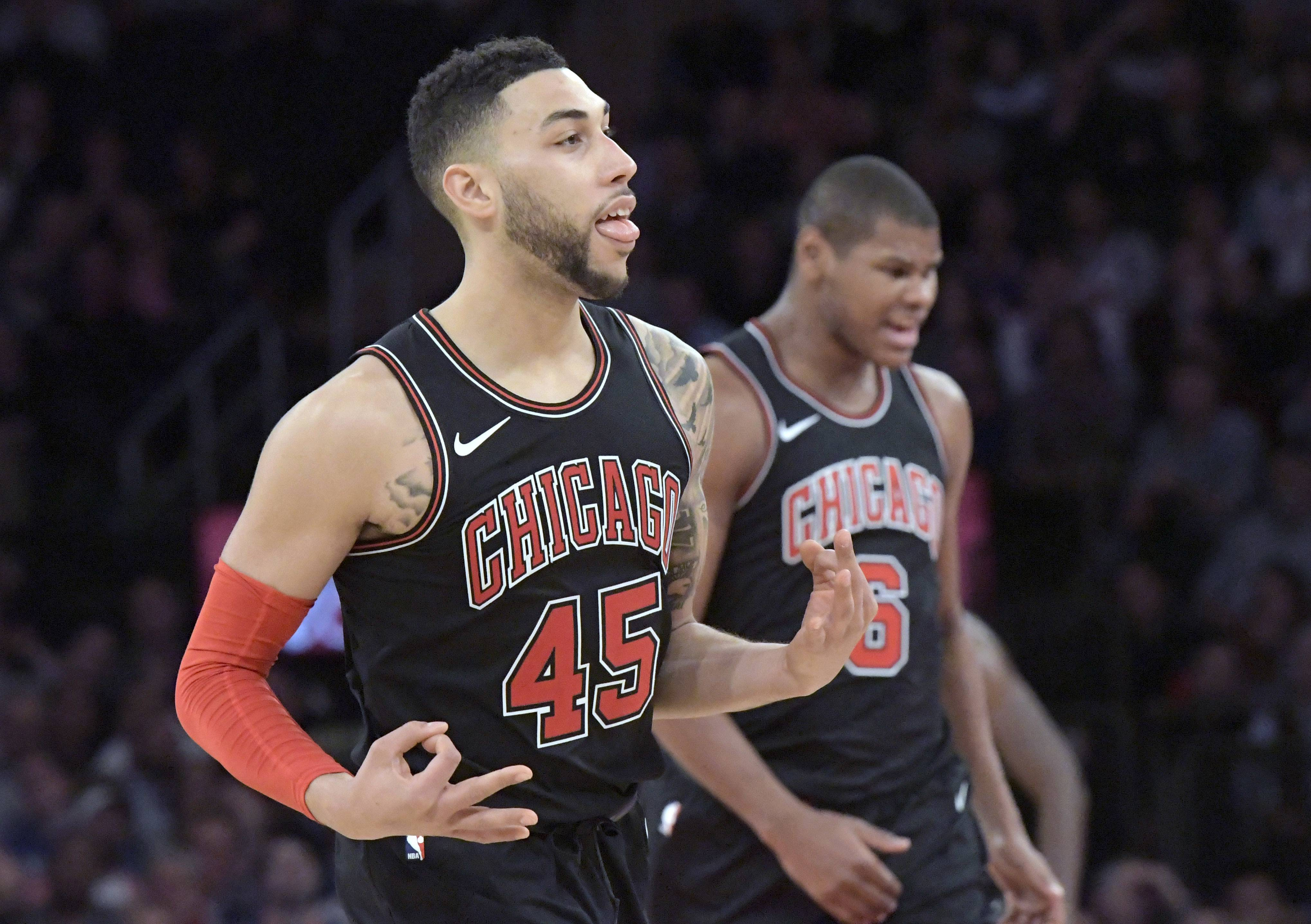 Bulls Guard Denzel Valentine Scored 19 And 20 Points In His Last Two Games  Before Zach