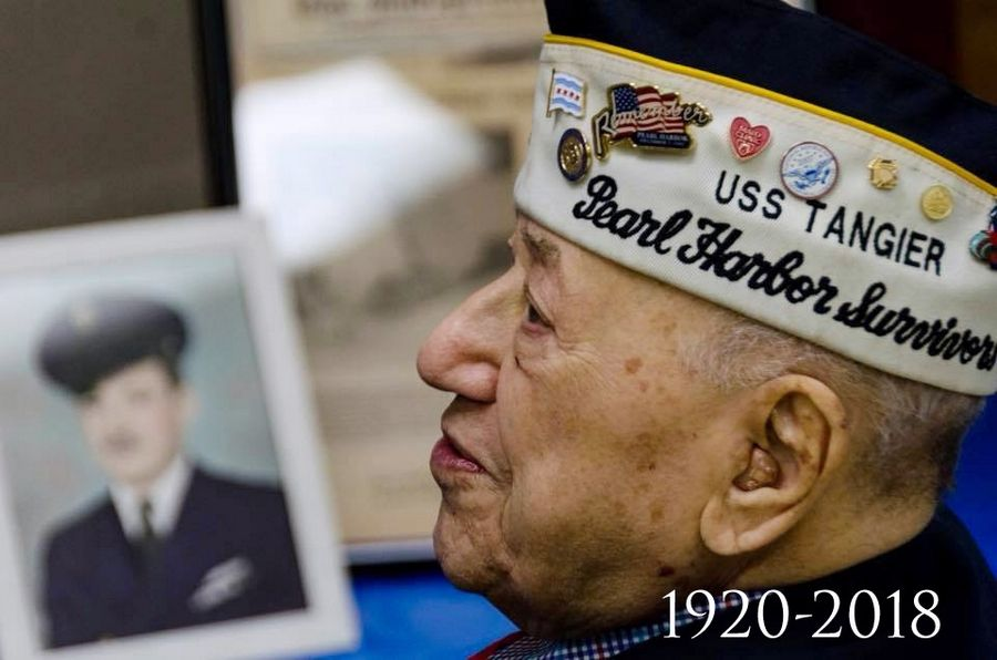 Navy veteran and Zion resident Joe Triolo, 97, one of few remaining survivors of the attack on Pearl Harbor, died last week.