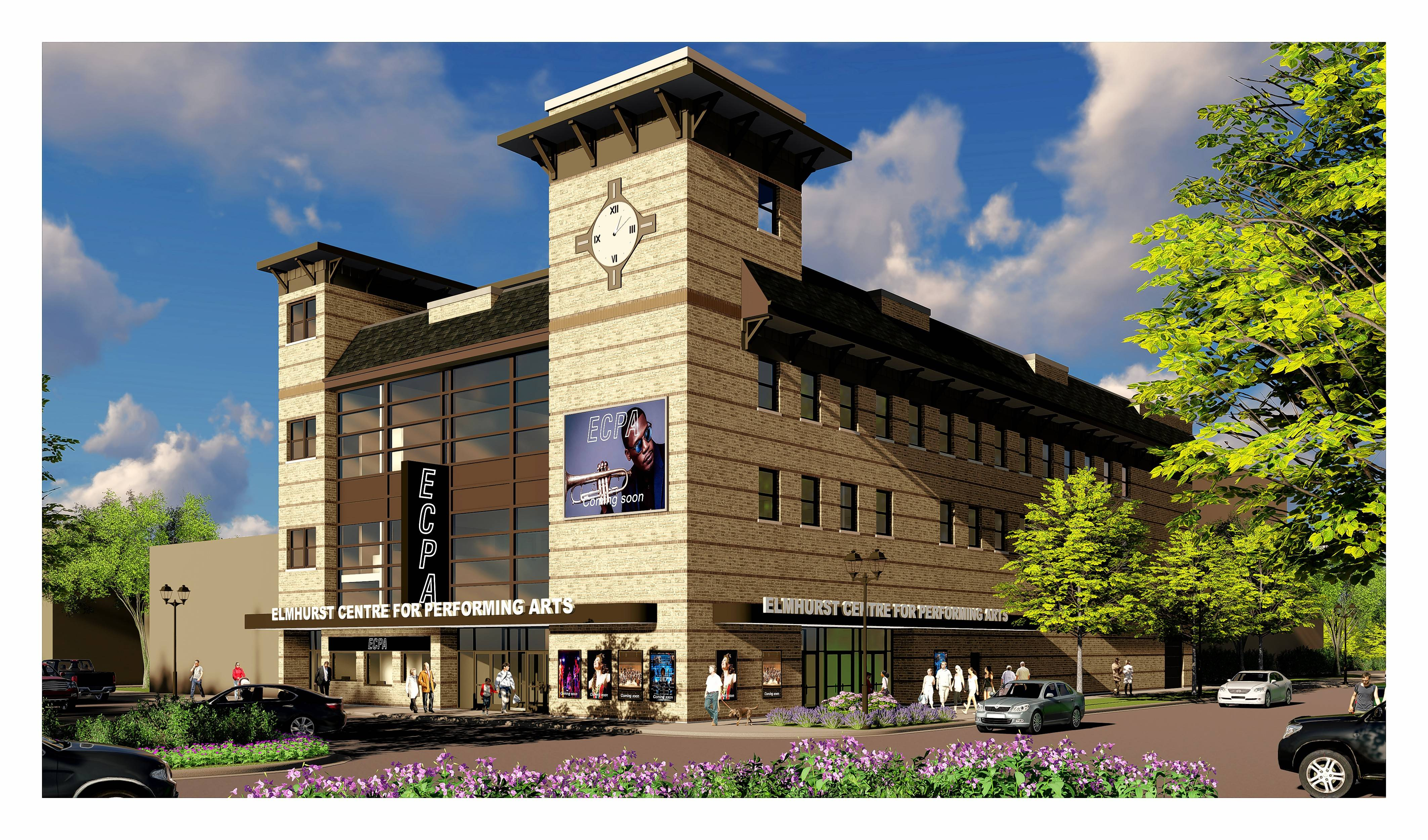 Study: Elmhurst can support $25 million performing arts center
