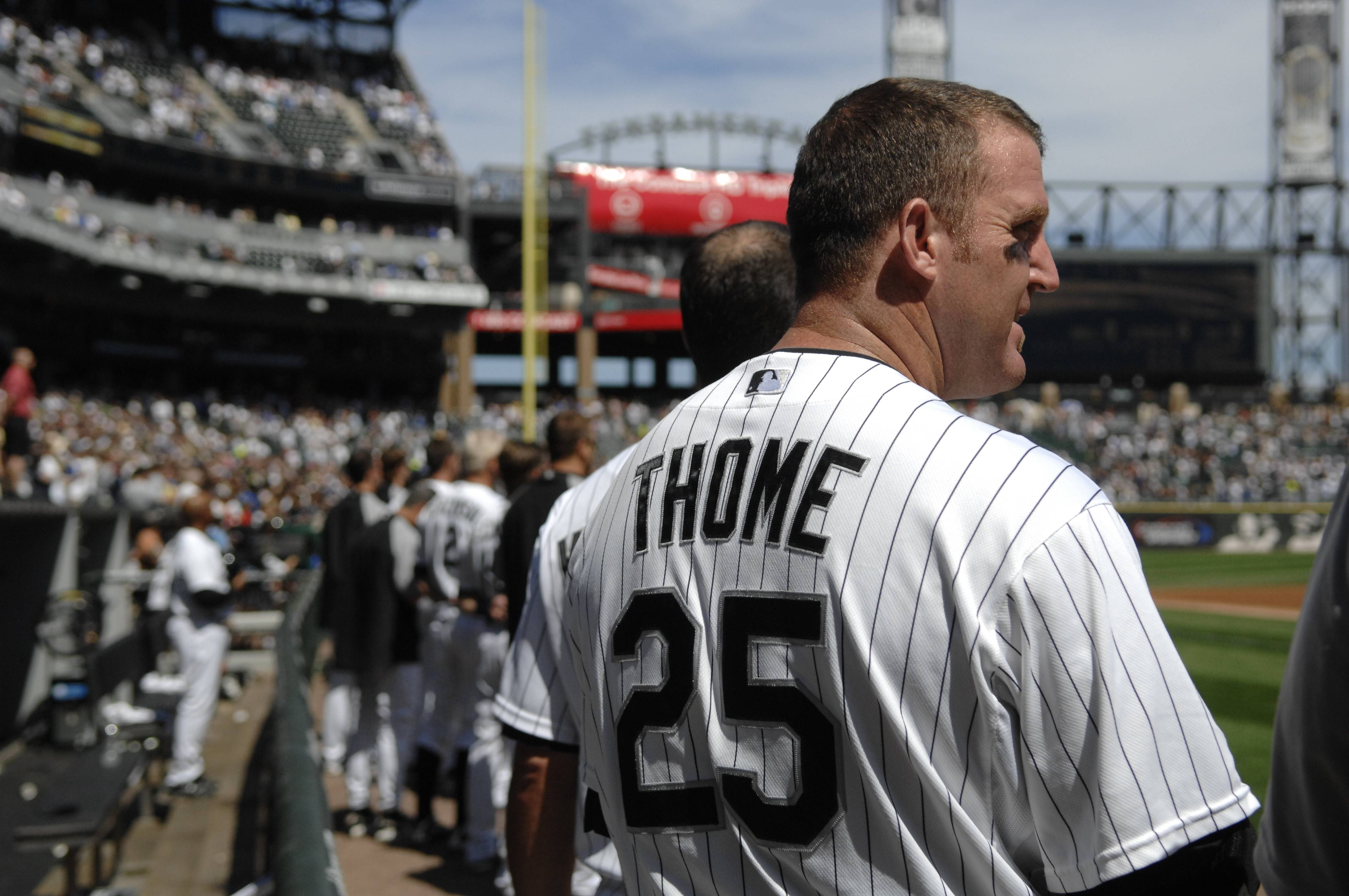 Jim Thome should crash the 90 percent mark and cruise into the Baseball Hall of Fame, Barry Rozner writes.
