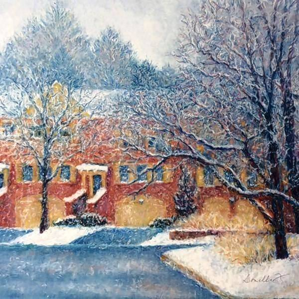 "Yellow House Artists will put on its winter show, ""Shades of Winter,"" Feb. 3 to March 23, at the Garlands of Barrington. It will feature original paintings by 14 participating artists, including Donelle Flanyak of Glen Ellyn."