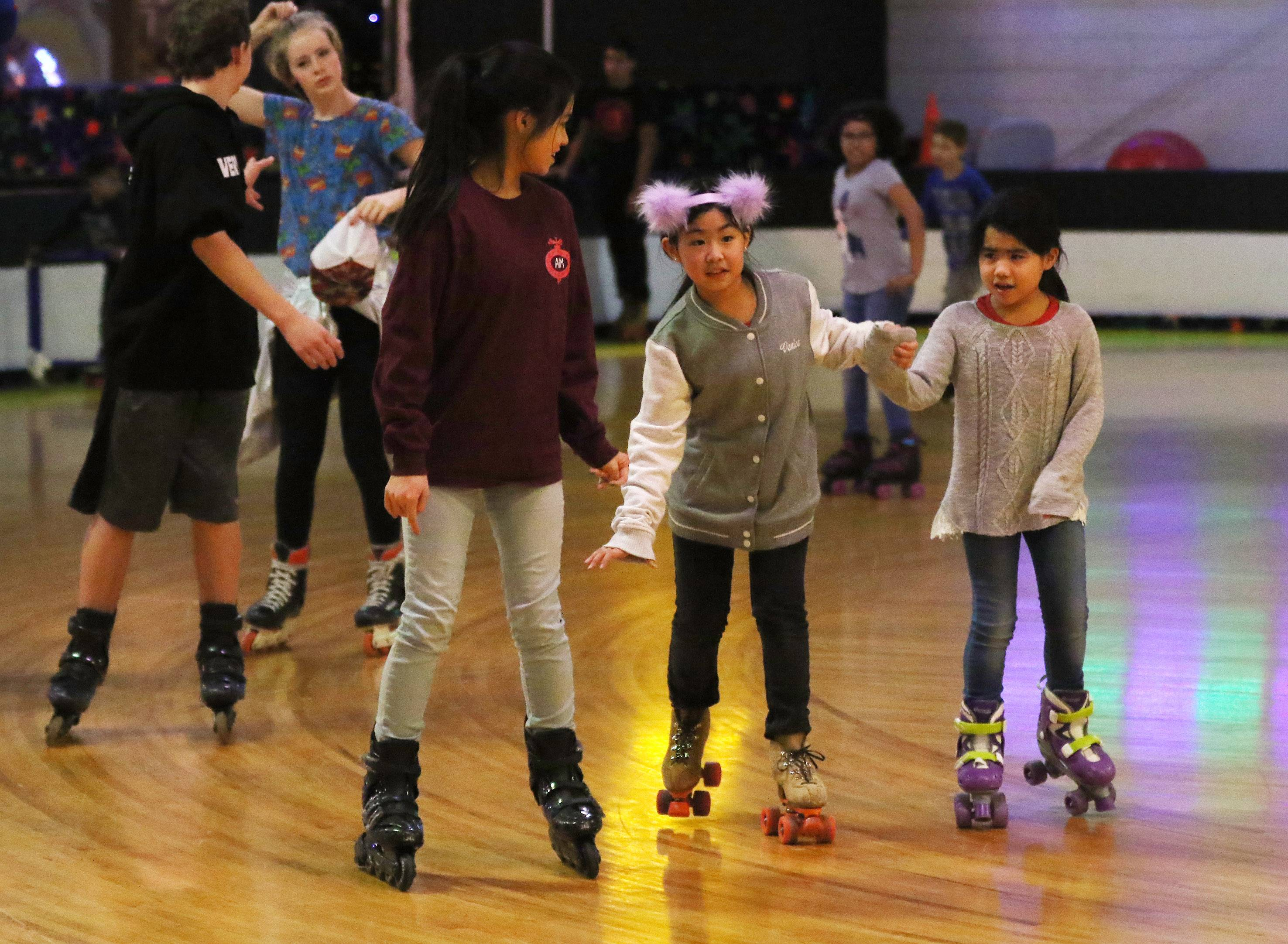 Constable: Orbit roller-skaters chill inside while it's icy outside