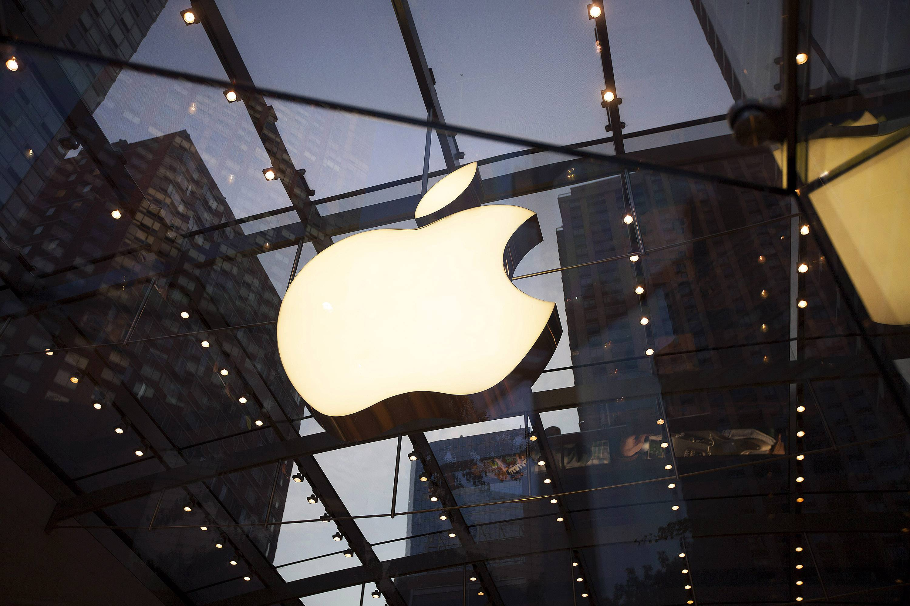 Apple said Wednesday it will spend $350 billion in development and create 20,000 U.S. jobs in the next five years.