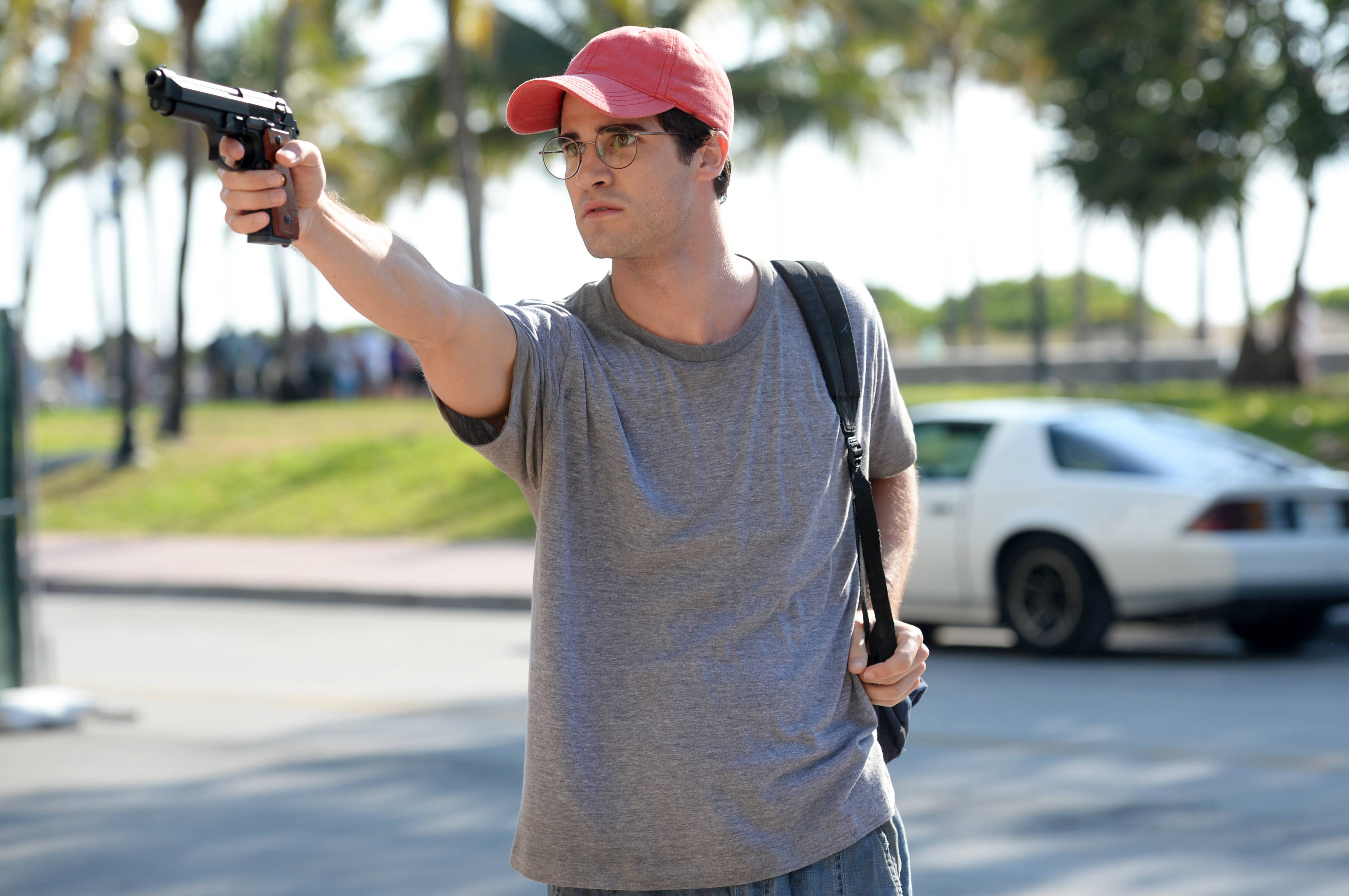 "Darren Criss plays Andrew Cunanan in ""The Assassination of Gianni Versace: American Crime Story."""