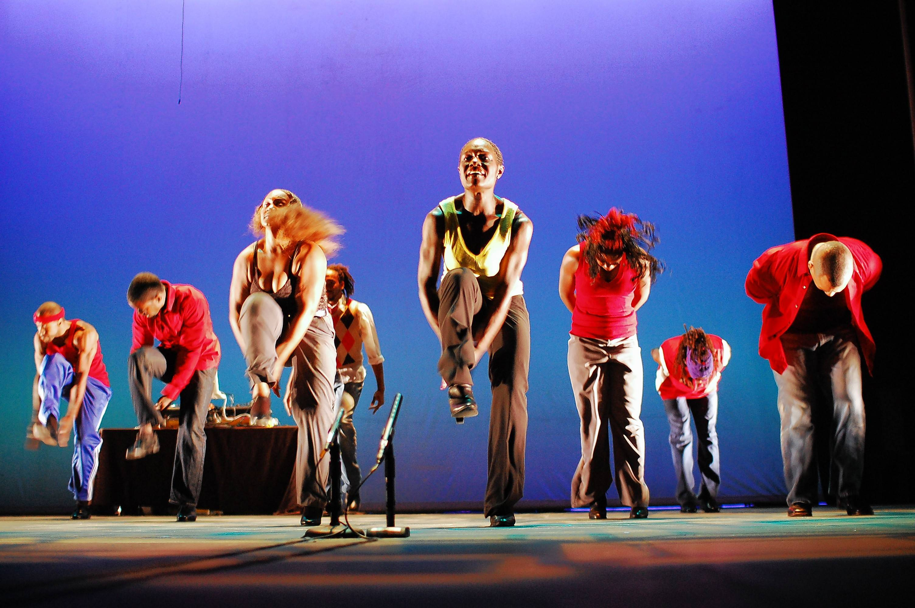 Step Afrika! performs at the Raue Center for the Arts in Crystal Lake on Wednesday, Jan. 17.