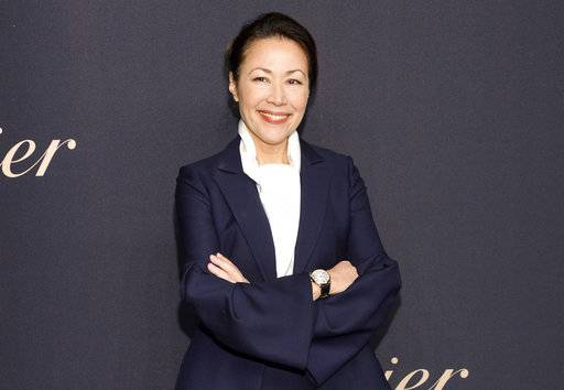 "FILE - In this Nov. 12, 2014, file photo, Ann Curry attends the Panthere de Cartier Collection dinner & party at Skylight Clarkson Studios in New York. Former ""Today"" show anchor Curry says she's not surprised by the allegations that got former colleague Matt Lauer fired and that there was an atmosphere of verbal sexual harassment at the NBC show when she worked there. (Photo by Evan Agostini/Invision/AP, File)"