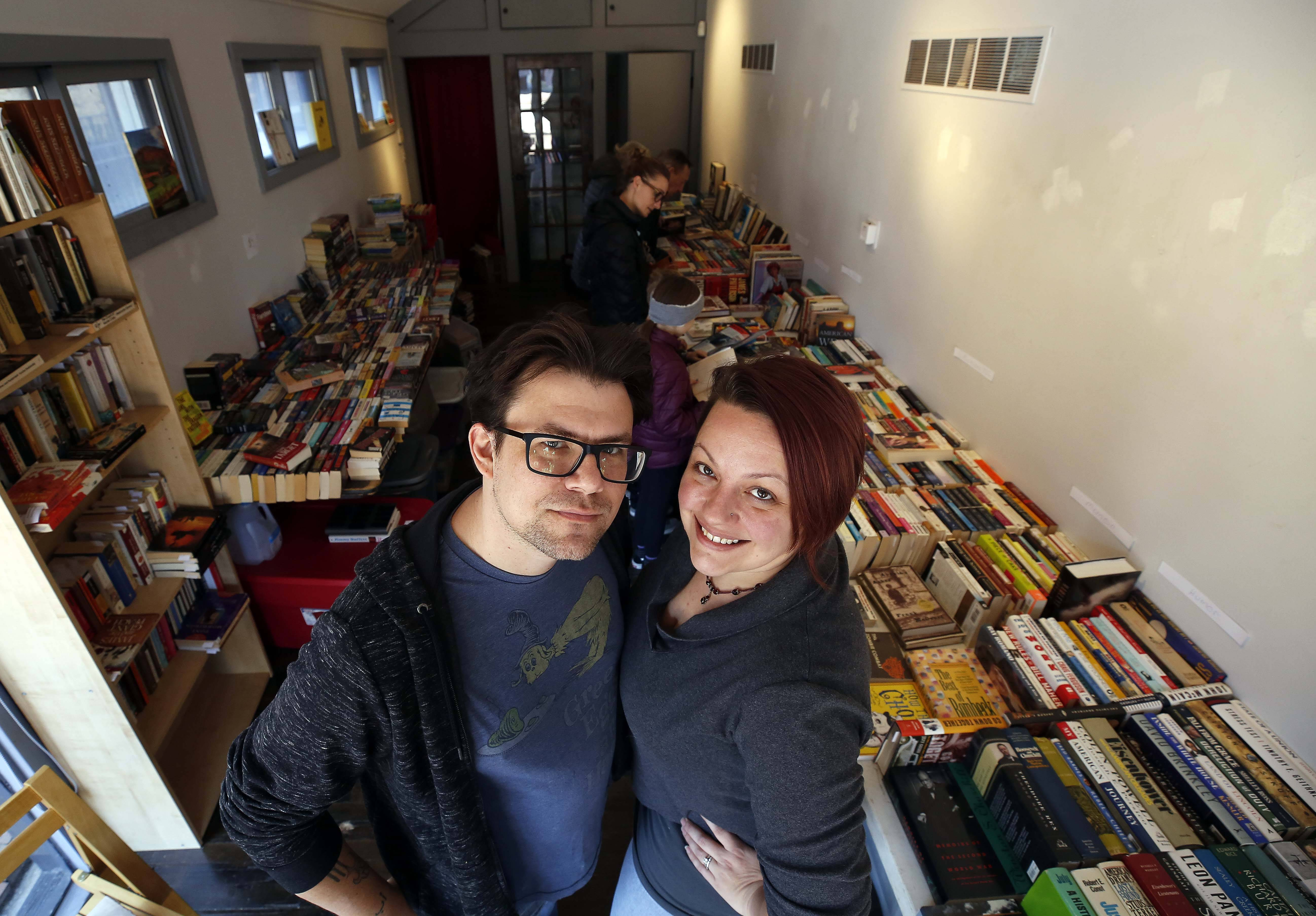 James Stickling and his wife Lizzy Evensen have opened a bookstore in Batavia called, simply, The Book Shop.