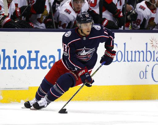 Injuries to key scorers thin out lines for Blue Jackets