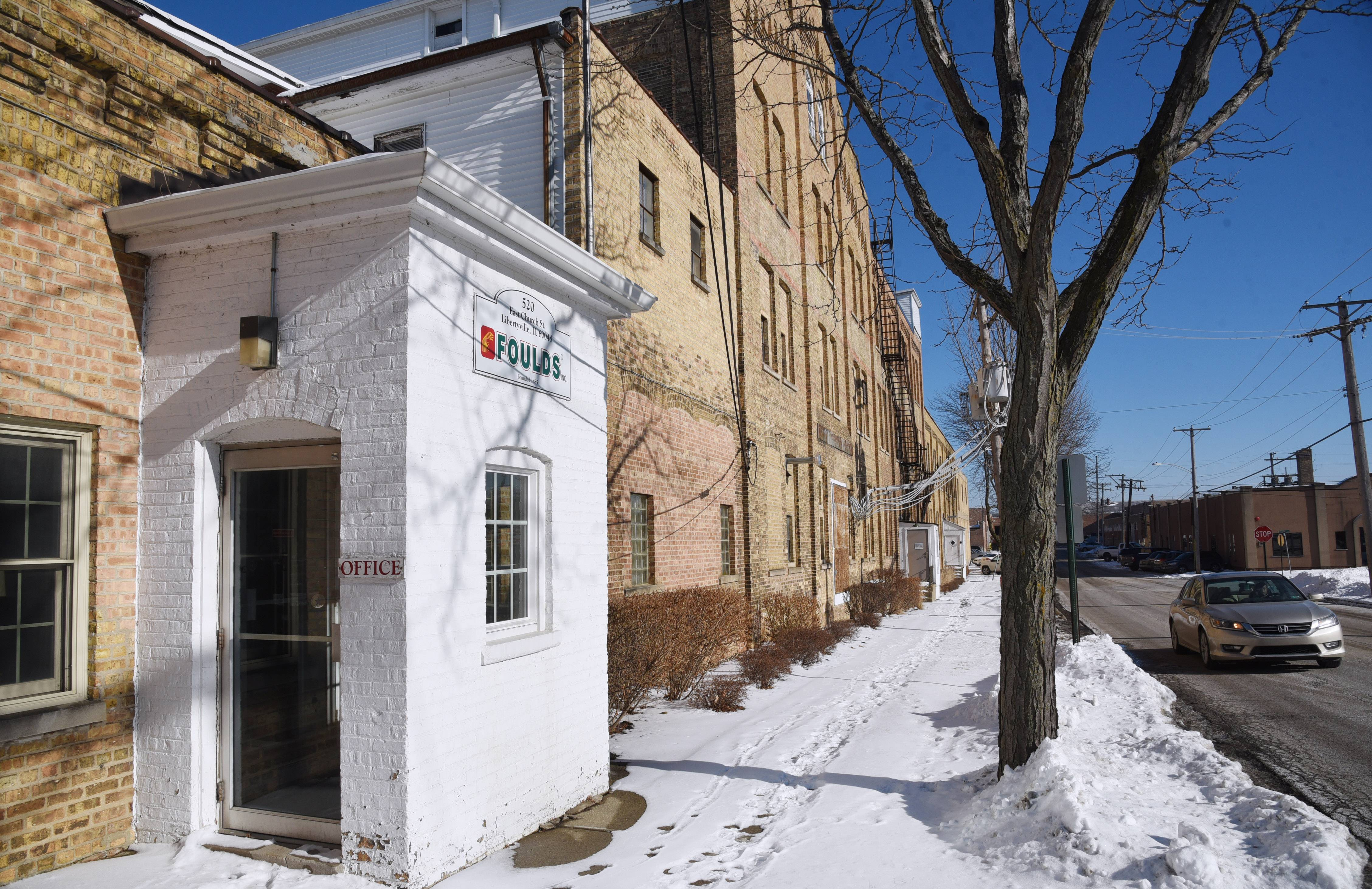 The vacant former Foulds pasta company on East Church Street in Libertyville may be better suited for residential and commercial uses as the village revises its long-range plan.