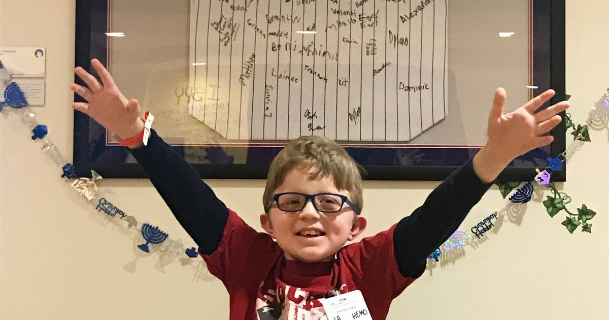 How fourth-grader copes with rare genetic disorder