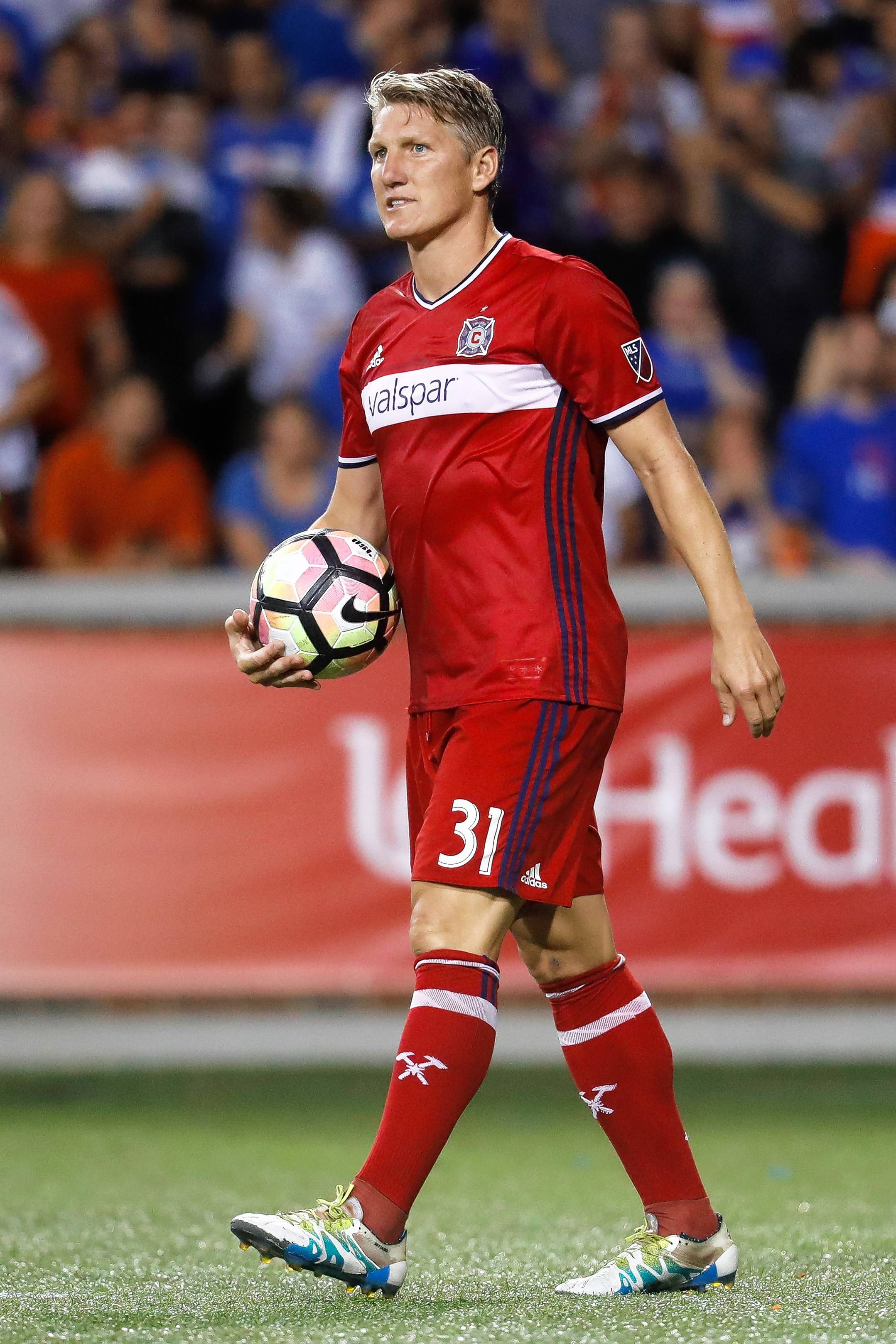 Midfielder Bastian Schweinsteiger, who turns 34 in August, had 3 goals and 6 assists in 23 starts for the Chicago Fire last season. He has agreed to return to the Fire for the 2018 MLS season.