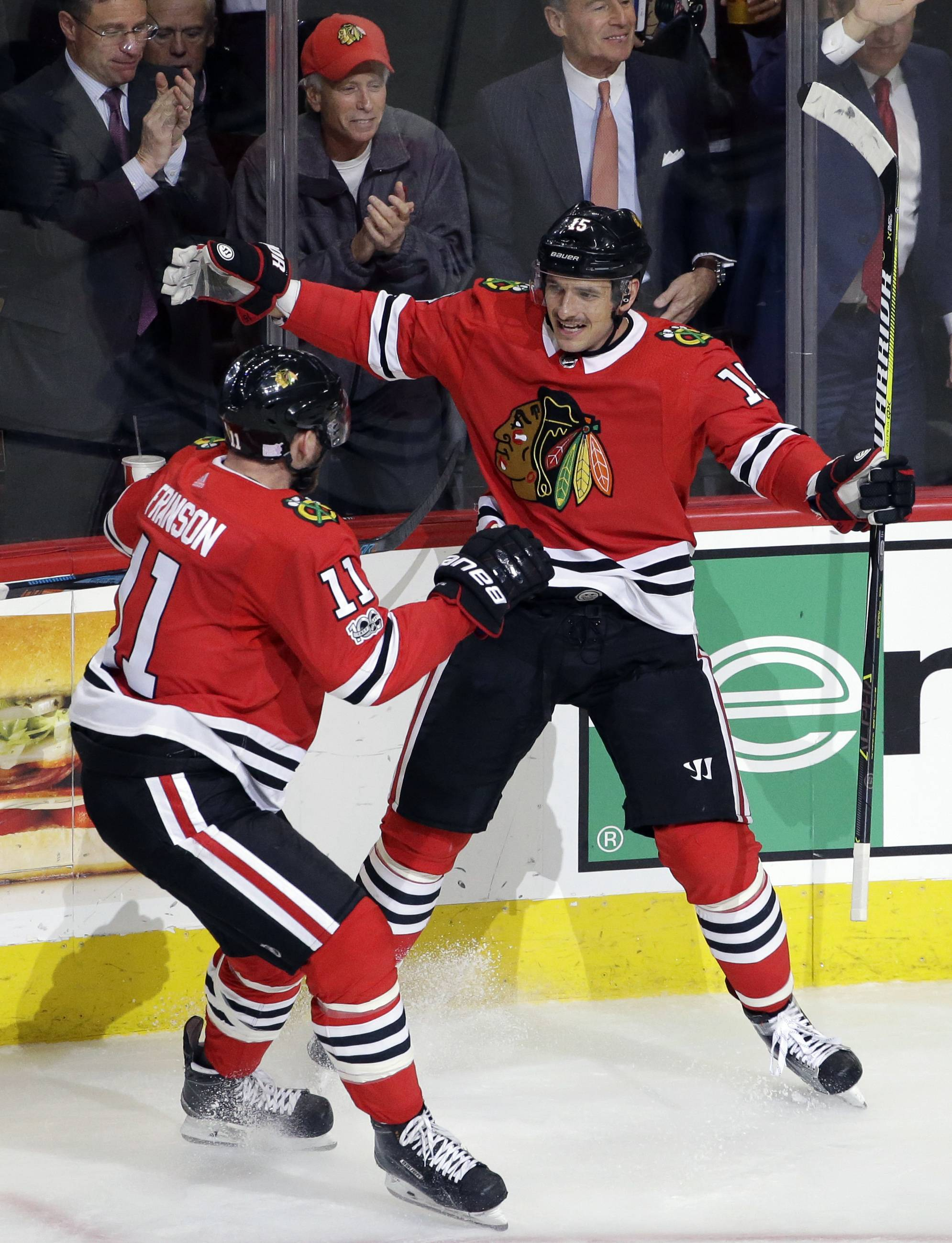 Artem Anisimov will not play Saturday against the Islanders, but the Chicago Blackhawks are hoping the center can return to face the Tampa Bay Lightning on Monday.
