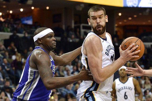 Grizzlies beat Kings 106-88 in Randolph's return to Memphis