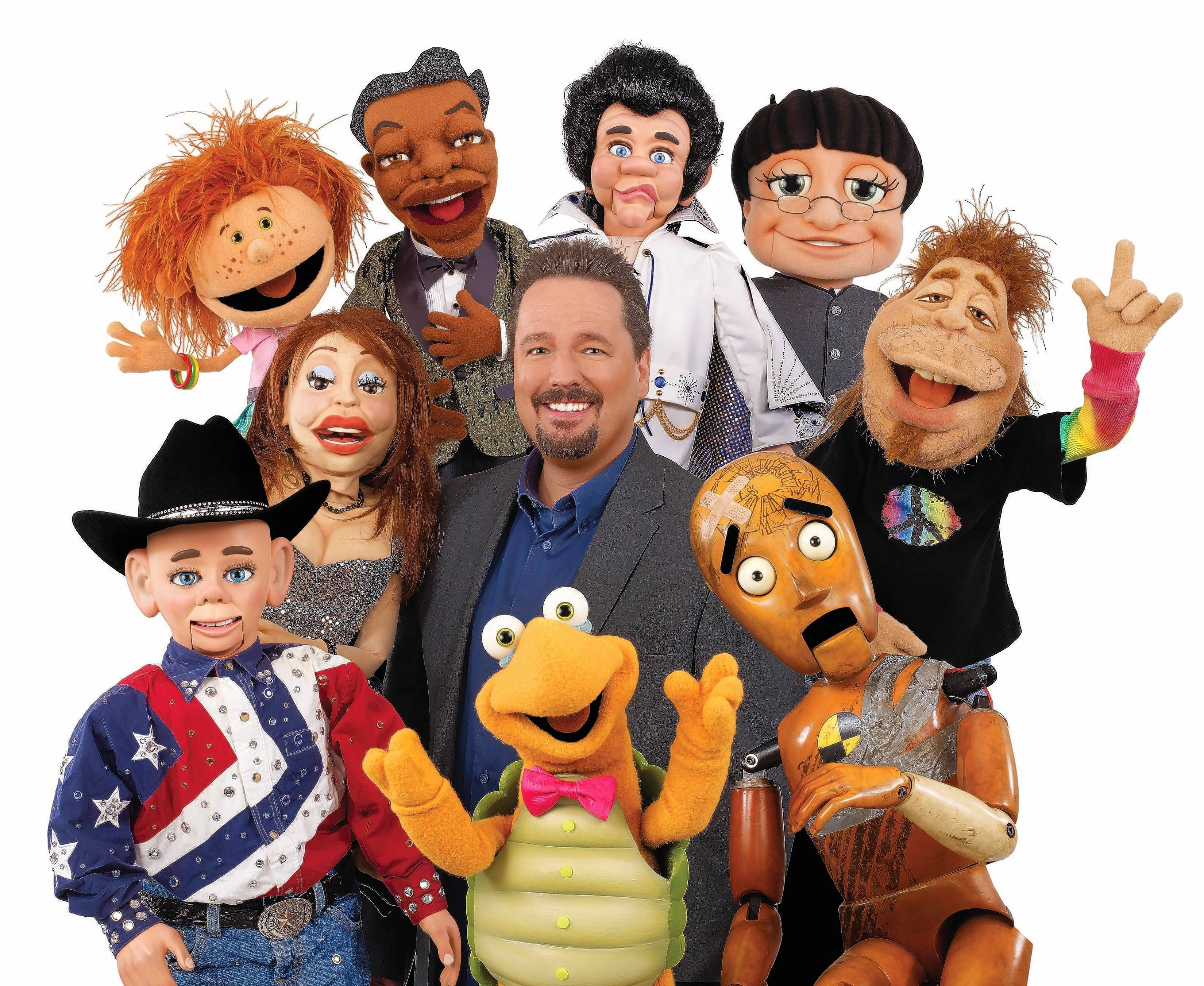 Comedian and ventriloquist Terry Fator performs at both the Genesee Theatre in Waukegan and the Paramount Theatre in Aurora this weekend.