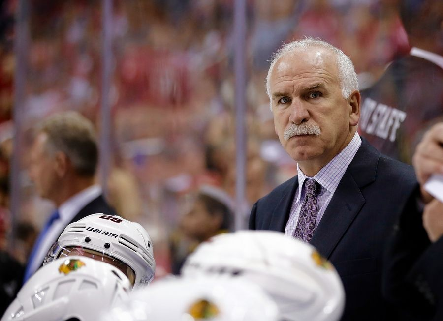 Chicago Blackhawks head coach Joel Quenneville knows Corey Crawford is a big reason why the Hawks are even close to a playoff spot and he isn't ready to give up hope on Crawford returning before the season's done. But until then, the Blackhawks need to play like they're desperate.