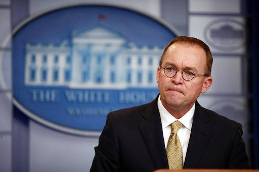 Mulvaney finds himself in middle of another shutdown