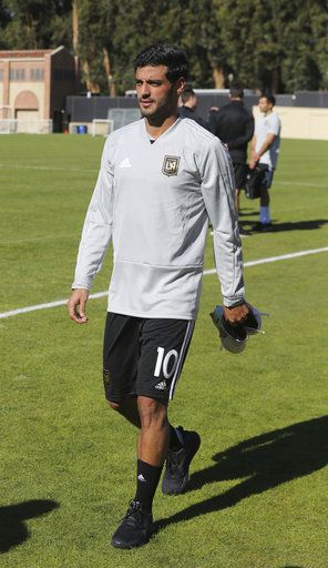 sports shoes fe14e d122e Building a team: LAFC kicks off with its first practice