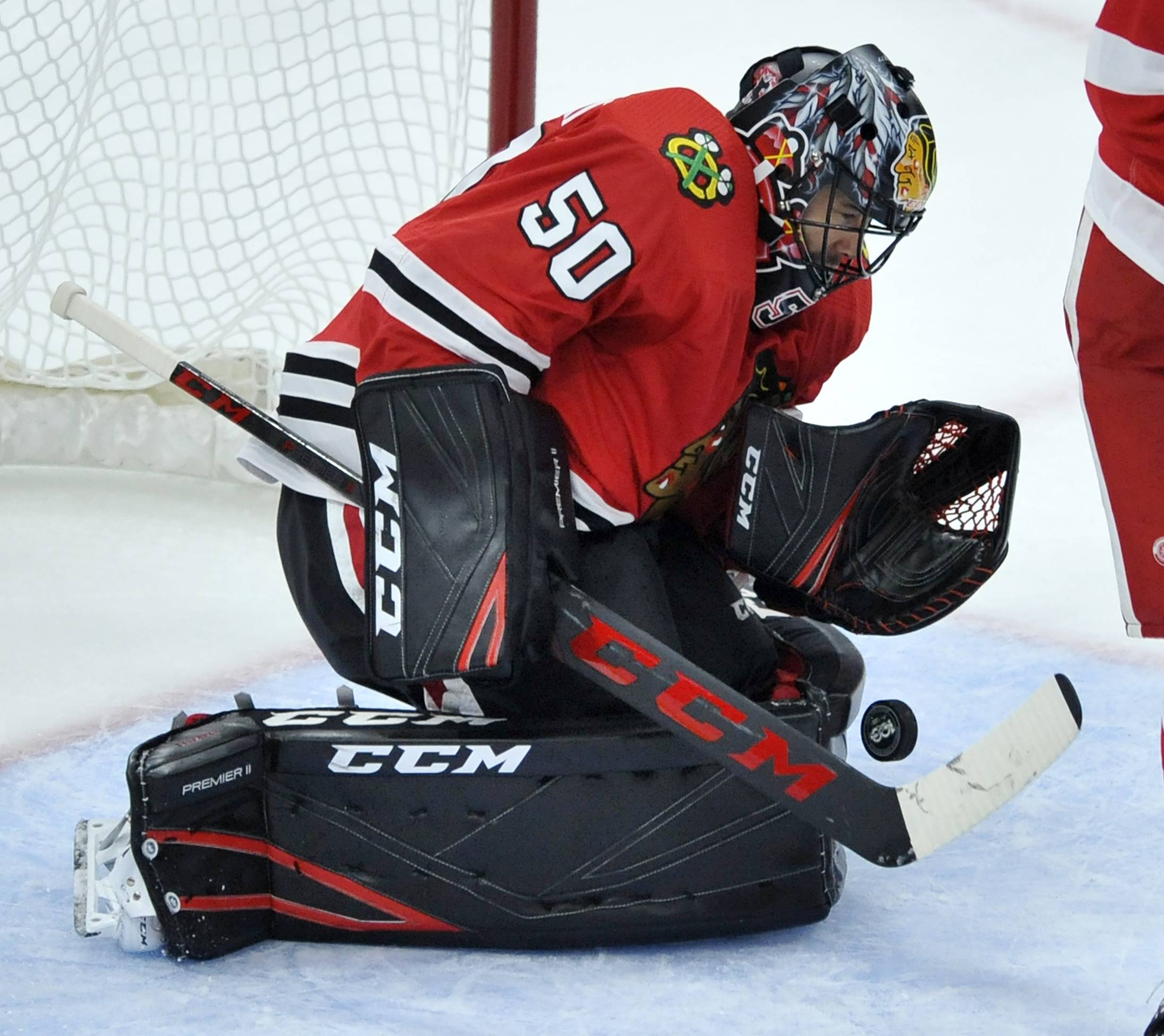 "Chicago Blackhawks goalie Corey Crawford, who has not played a game since Dec. 23, had a ""good workout"" on Tuesday, according to head coach Joel Quenneville."