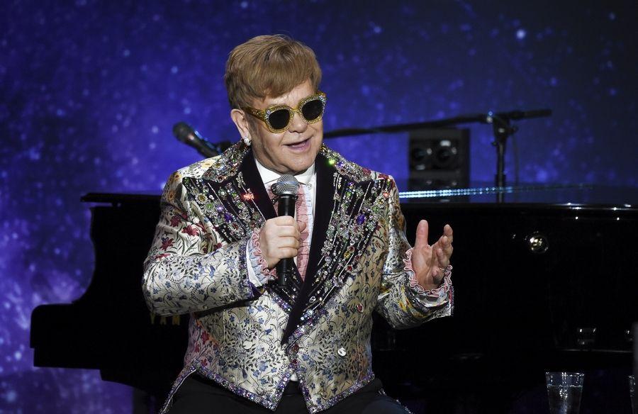 7561e987e54 Singer Elton John announces final world tour at Gotham Hall on Wednesday