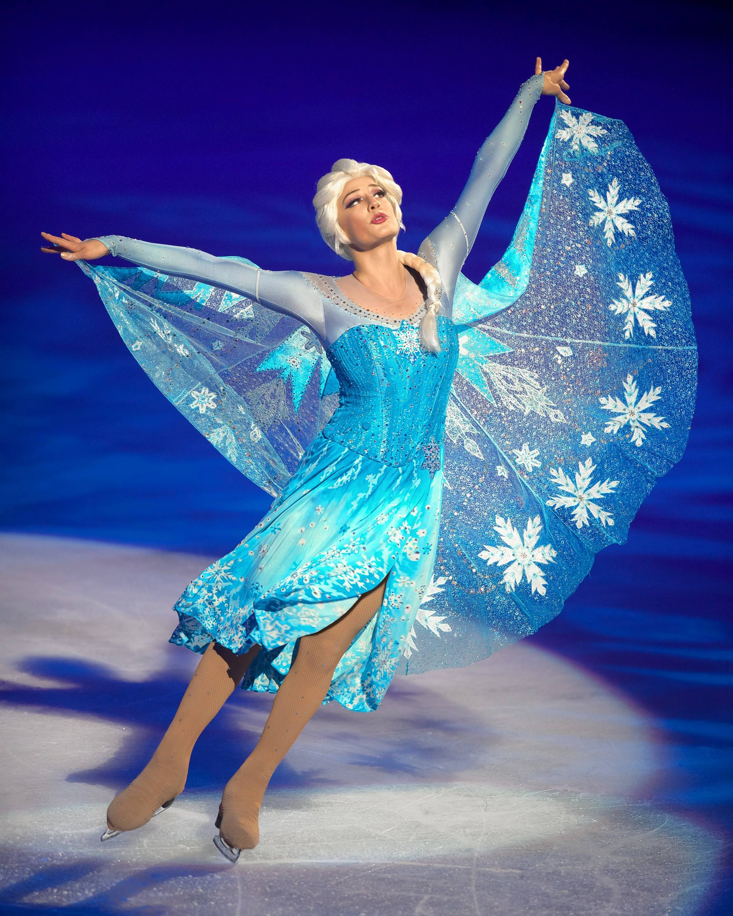 "Elsa from ""Frozen"" is featured in ""Disney On Ice: Dare to Dream"" at the Allstate Arena in Rosemont and the United Center in Chicago."