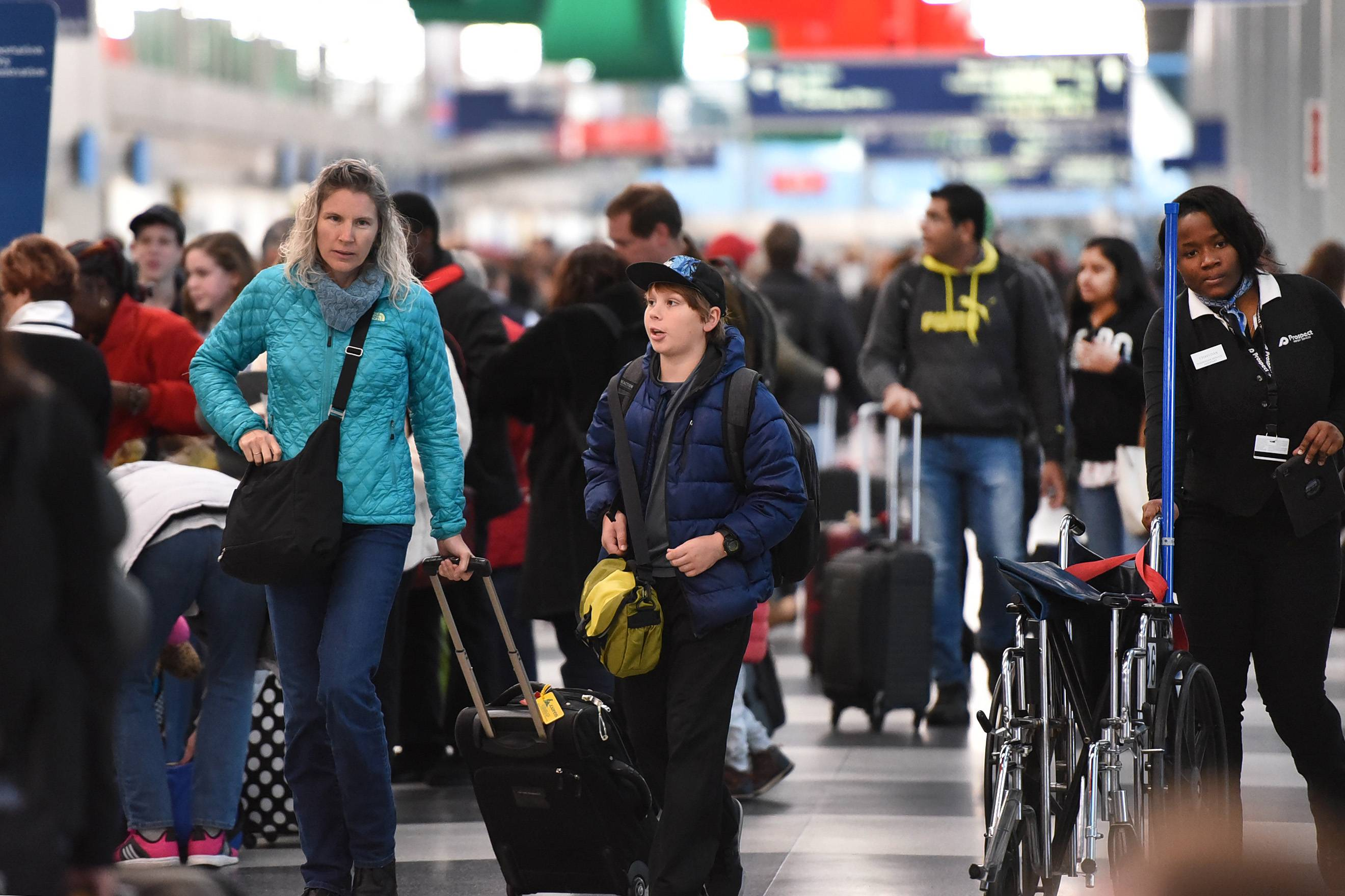 O'Hare International Airport is the second busiest in the U.S., the FAA reported Wednesday.