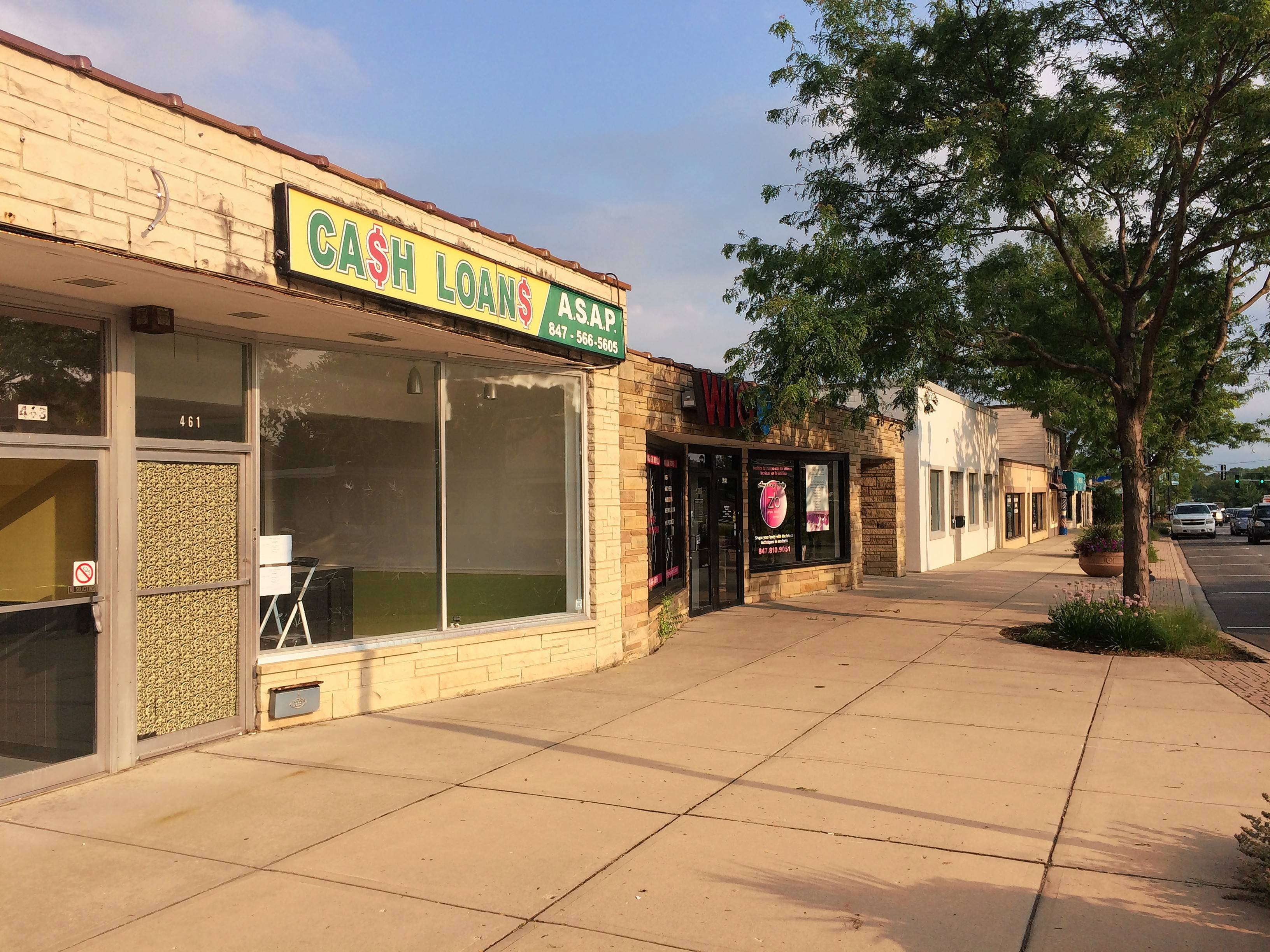 Mundelein has launched a grant program to help fund facade improvements along a short stretch of Lake Street.