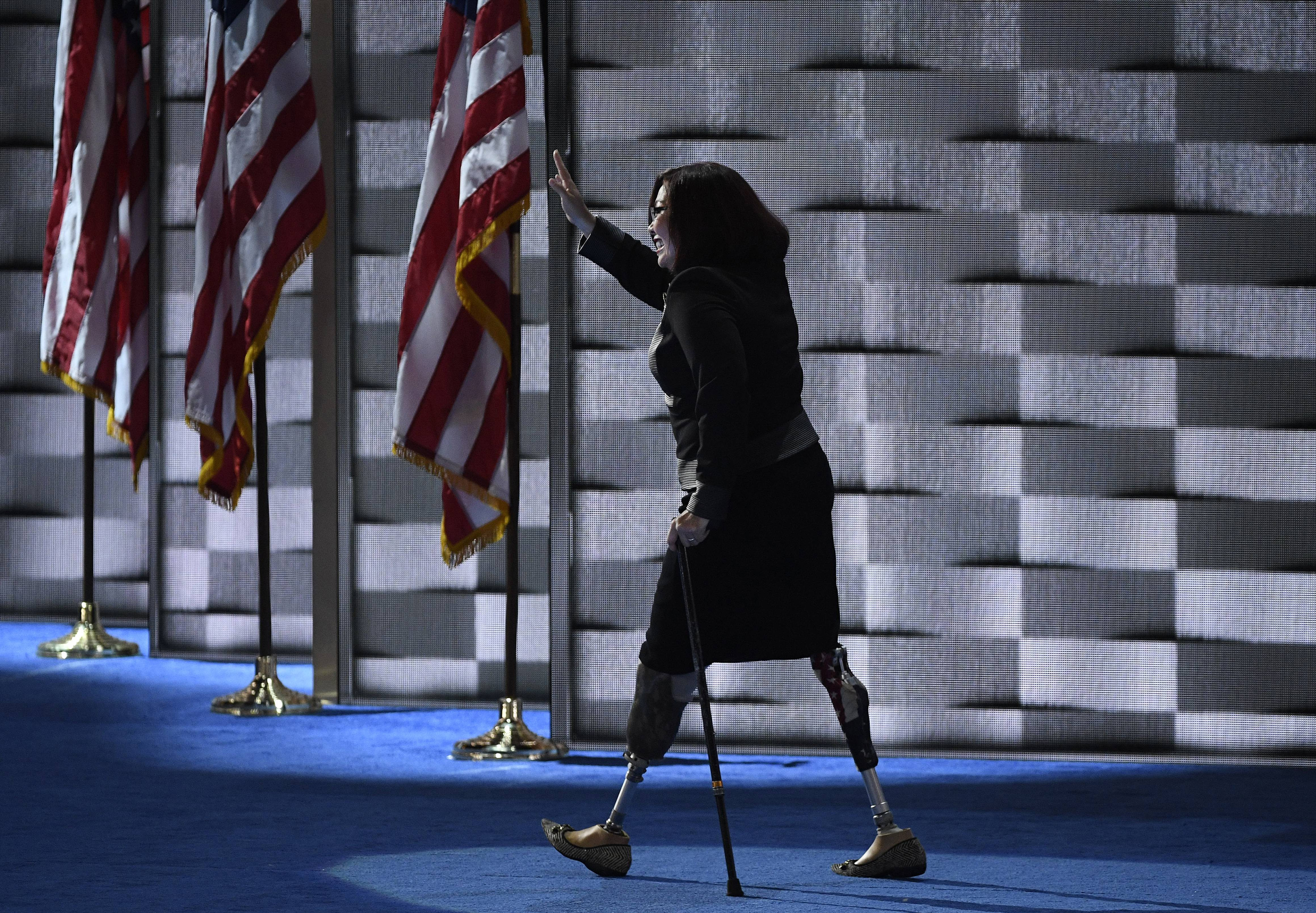 Tammy Duckworth, who will be Senate's first new mom, has record of blazing trails