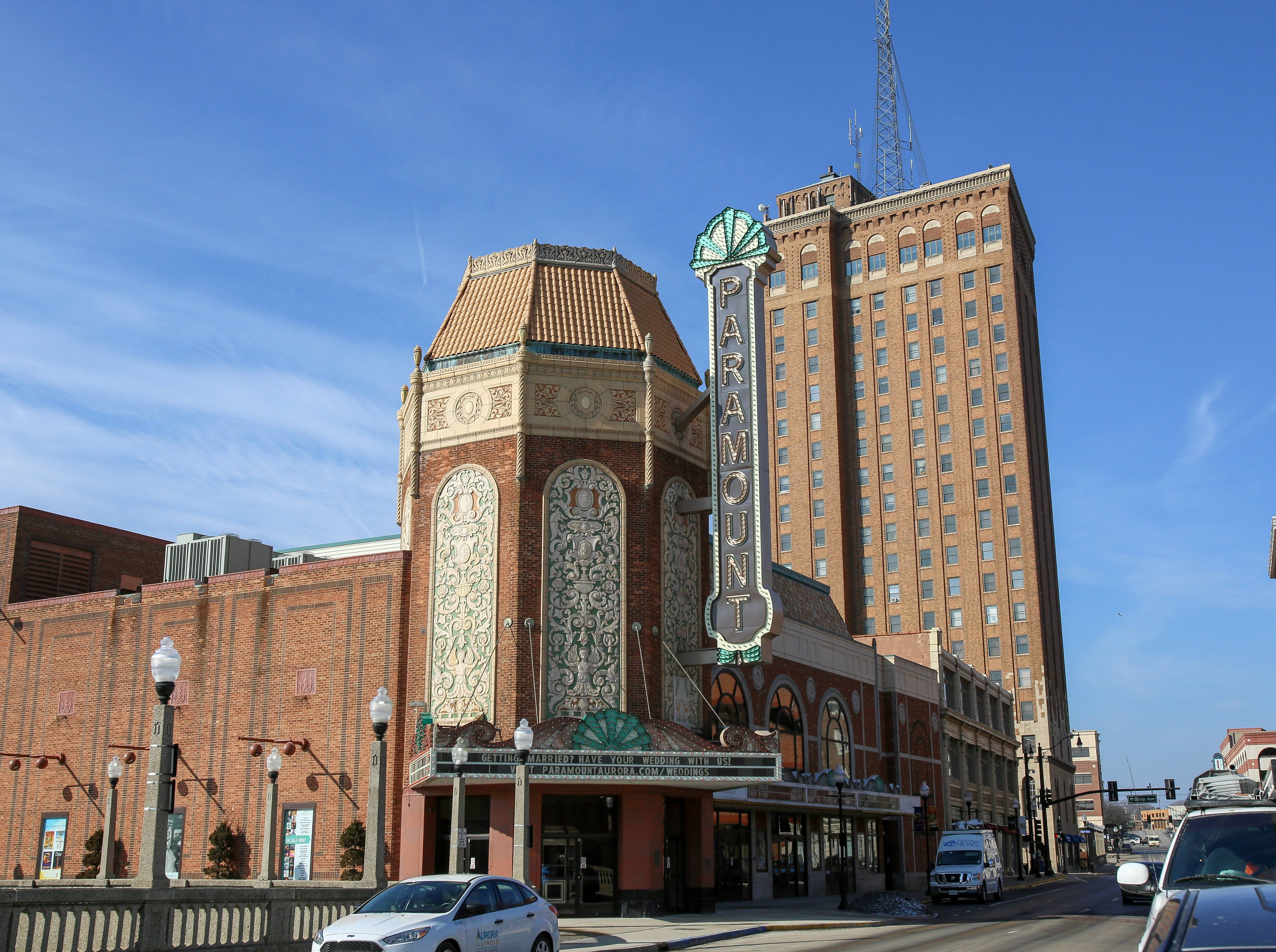 The Paramount Theatre in Aurora, which opened in 1931, soon will get all new seats as part of a $4.5 million campaign, which also includes the opening of a performing arts school and renovations at the Copley Theatre.